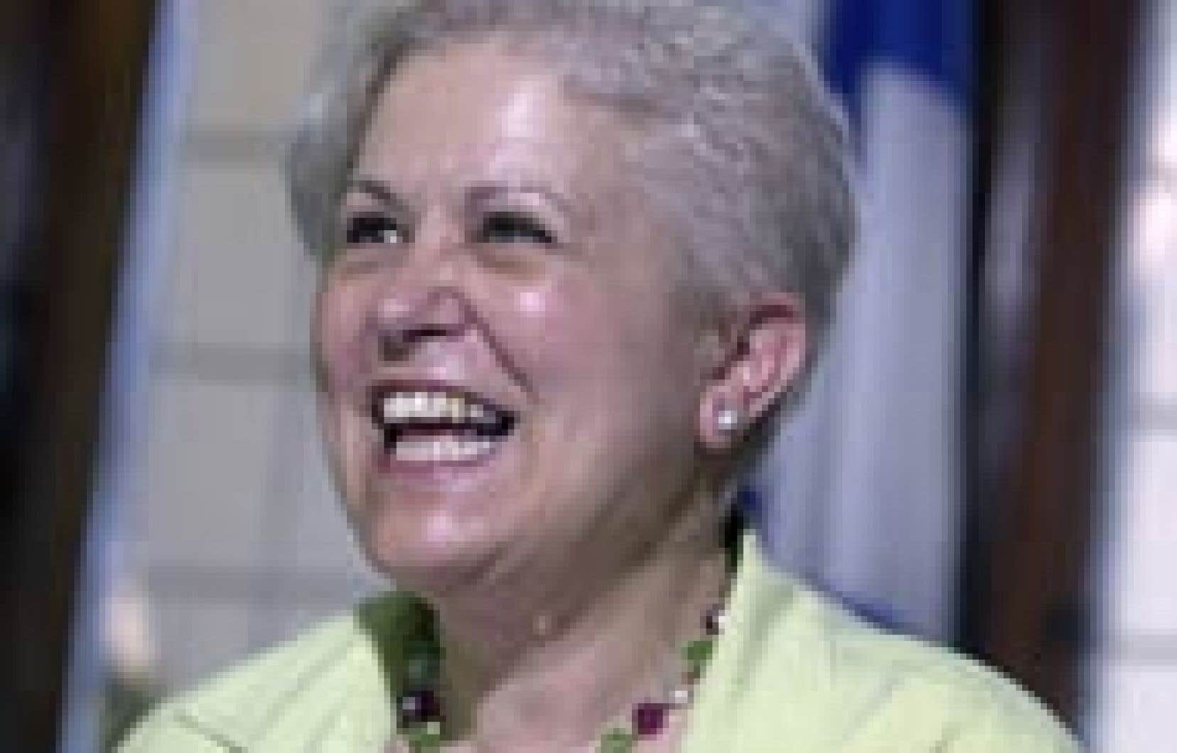 Louise Harel assurera l'intérim, le temps que le Parti québécois se donne un nouveau chef.