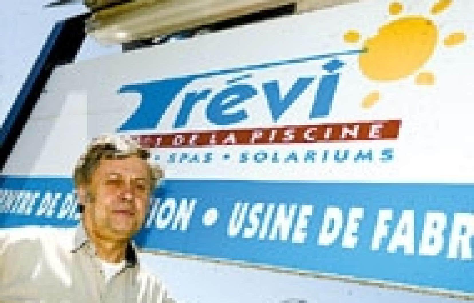 Clément Hudon a fondé Trévi en 1972. L'entreprise compte aujourd'hui 400 employés.