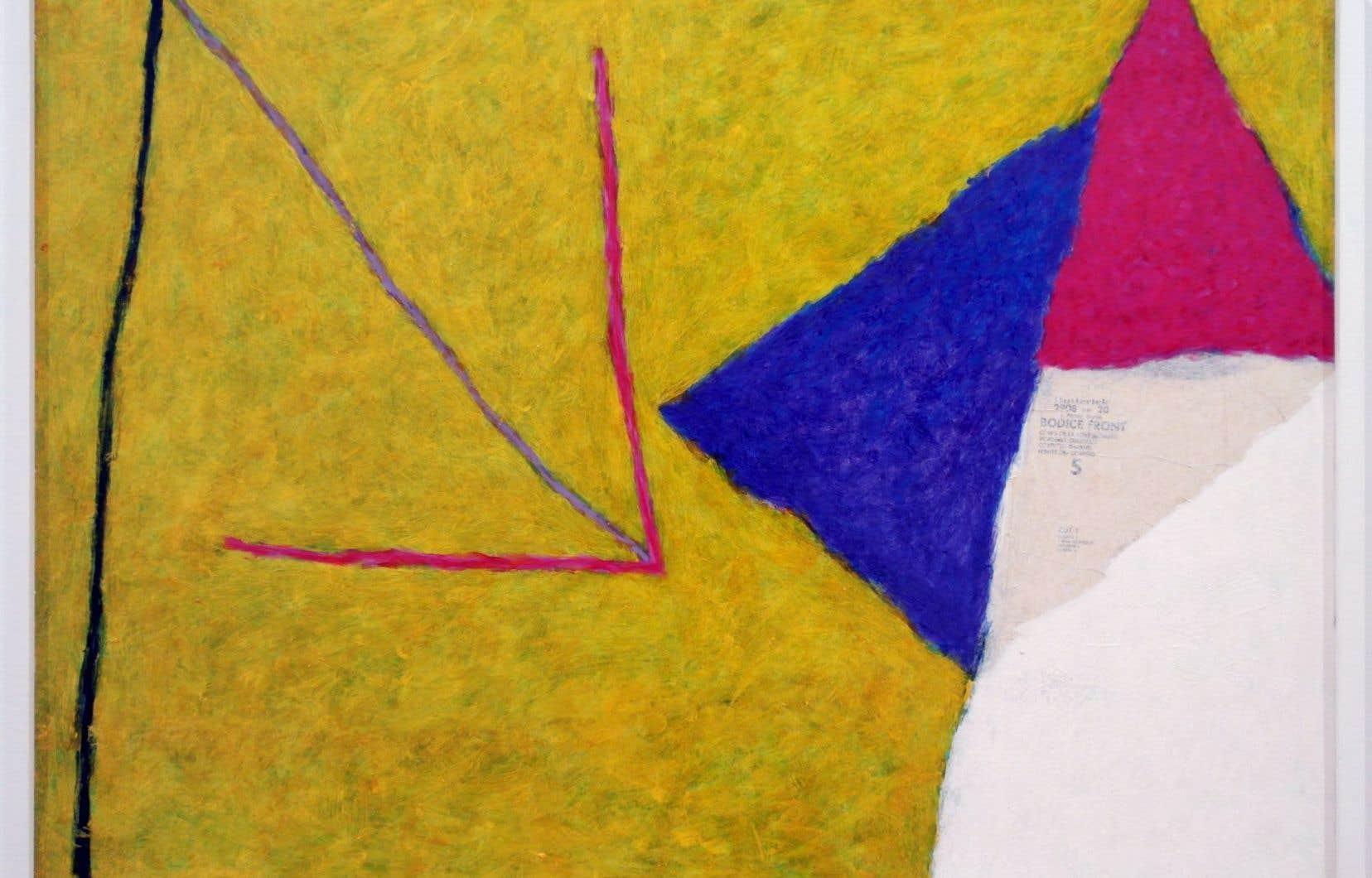 Robert Wolfe, Couvre-feu. L'exposition consacrée à l'artiste est un survol découpé en cinq sous-thèmes.