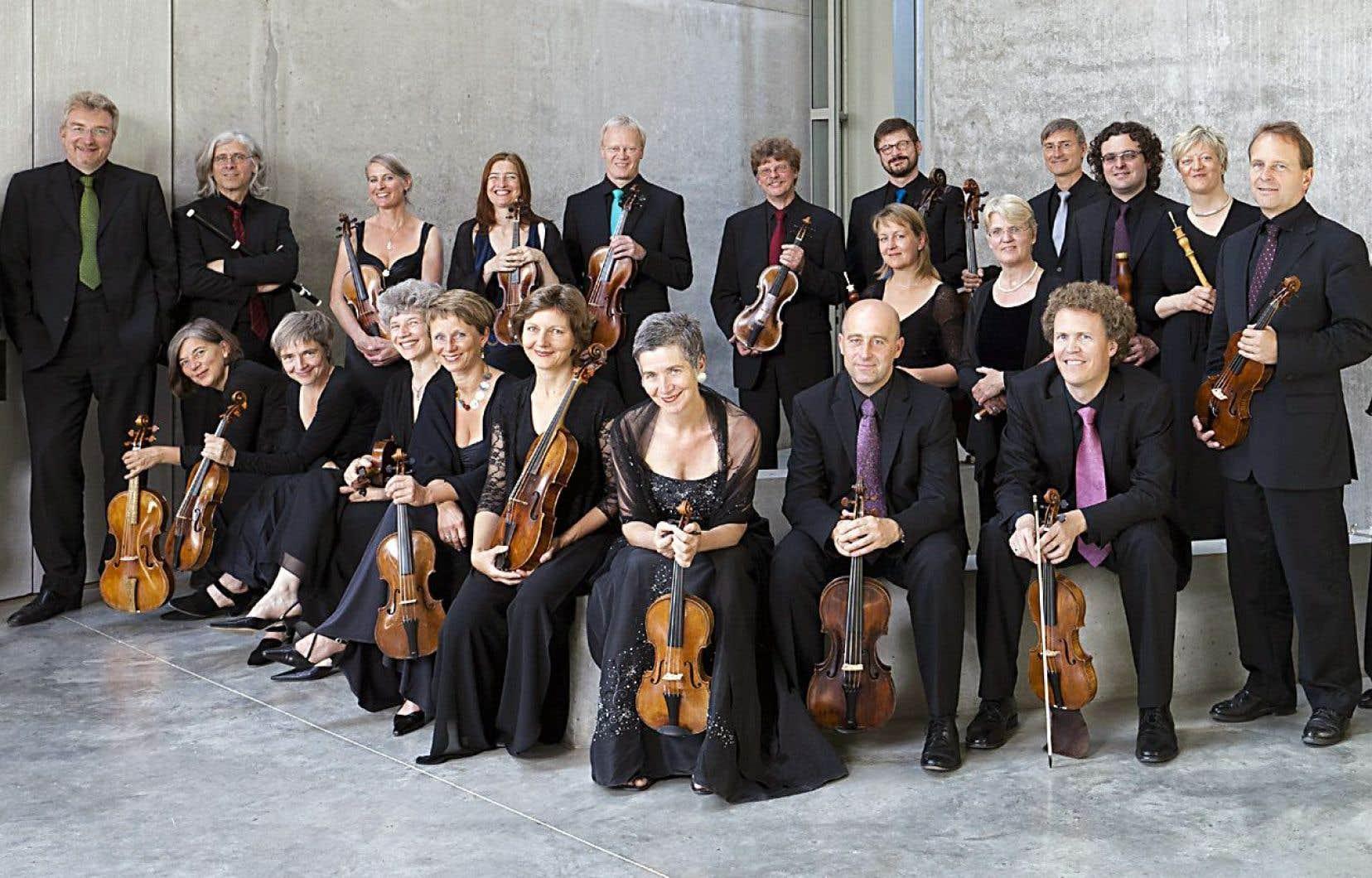 Le coup d'envoi du Festival Bach sera donné ce dimanche à la Maison symphonique, avec le célèbre Freiburger Barockorchester.