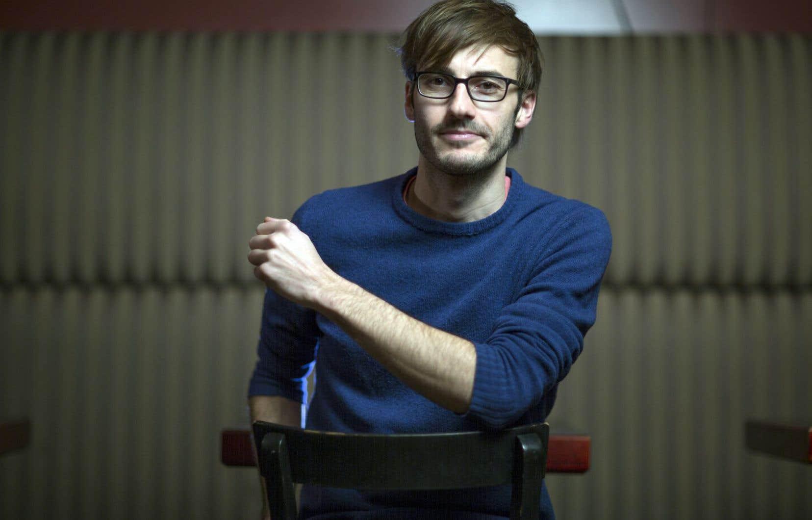 Le cinéaste Jean-François Caissy a tourné jusqu'à maintenant tous ses documentaires à Carleton-sur-Mer, son berceau.