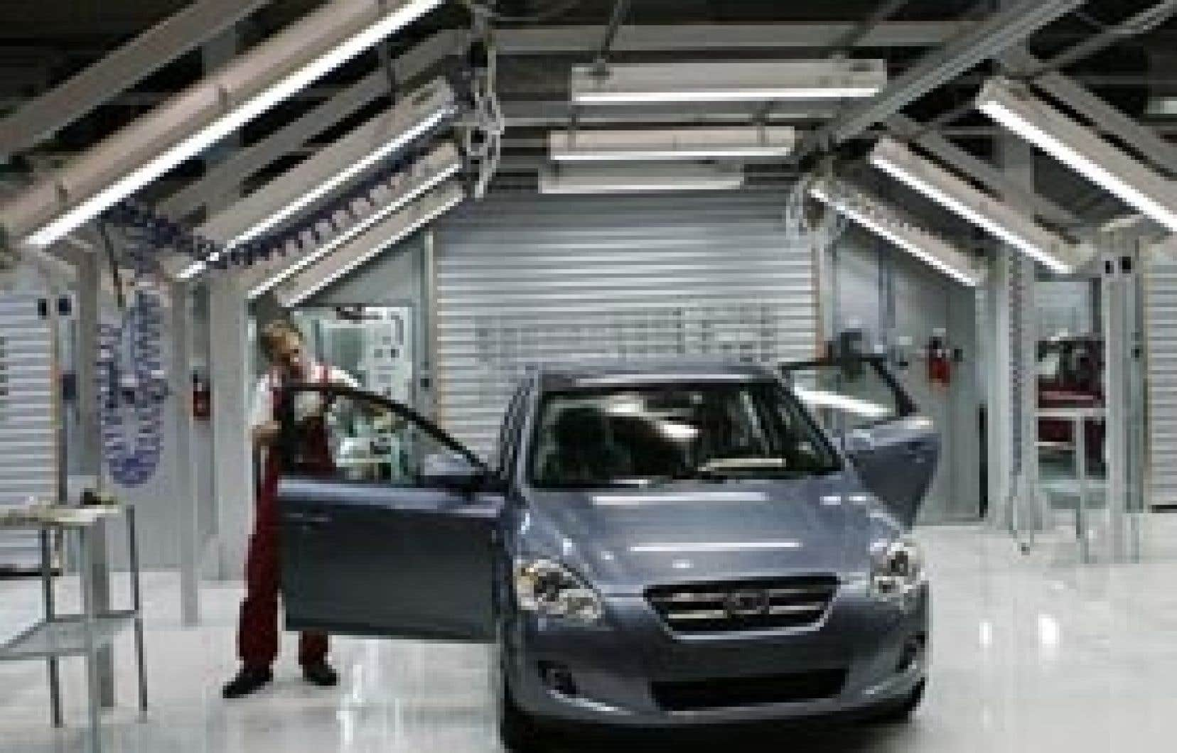 Kia a connu en avril le mois le plus productif depuis que le fabricant coréen s'est établi au Canada.