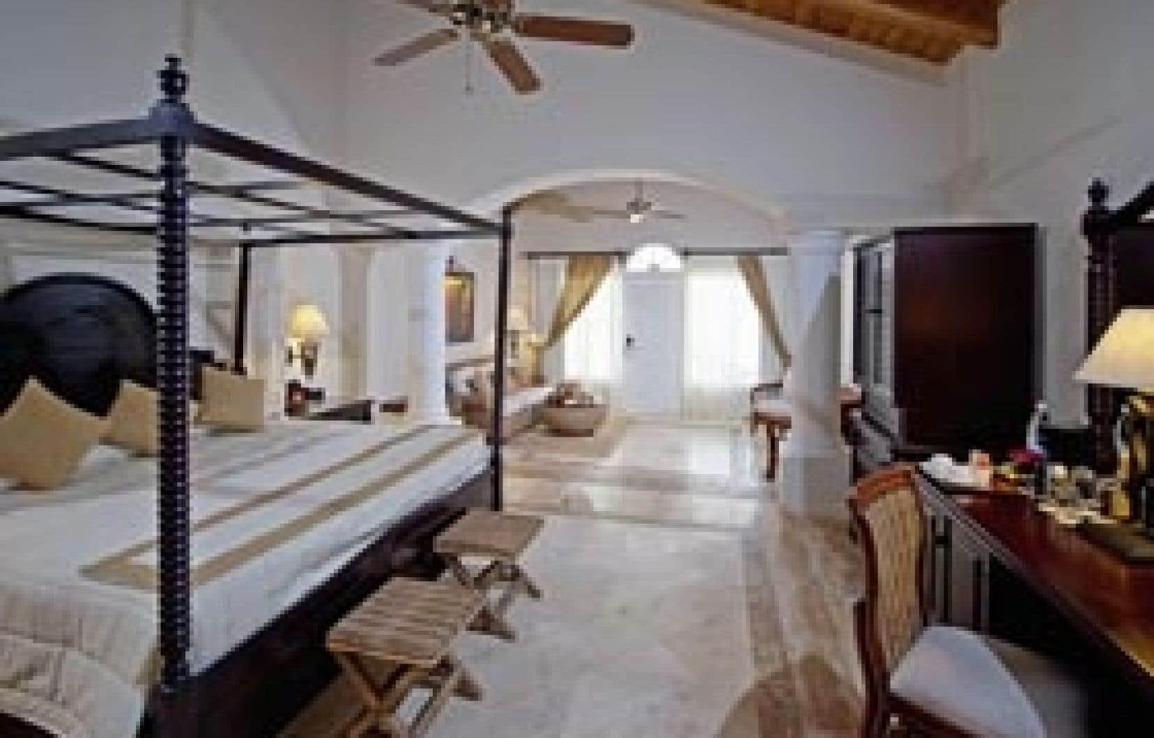 Une chambre de l'hôtel Gran Bahia Principe Cayo Levantado.