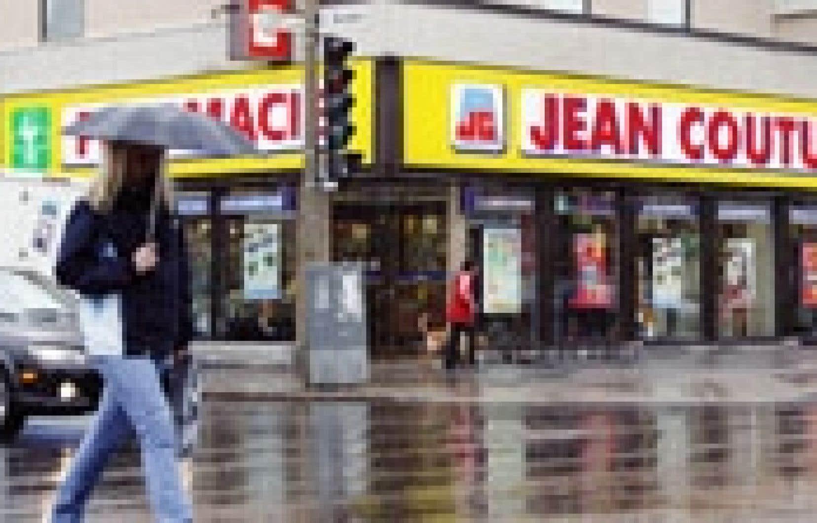 Le Groupe Jean Coutu est devenu la quatrième plus importante chaîne de pharmacies en Amérique du Nord, l'an dernier, à la suite de l'acquisition, au coût de 2,3 milliards $US, des 1549 pharmacies Eckerd.