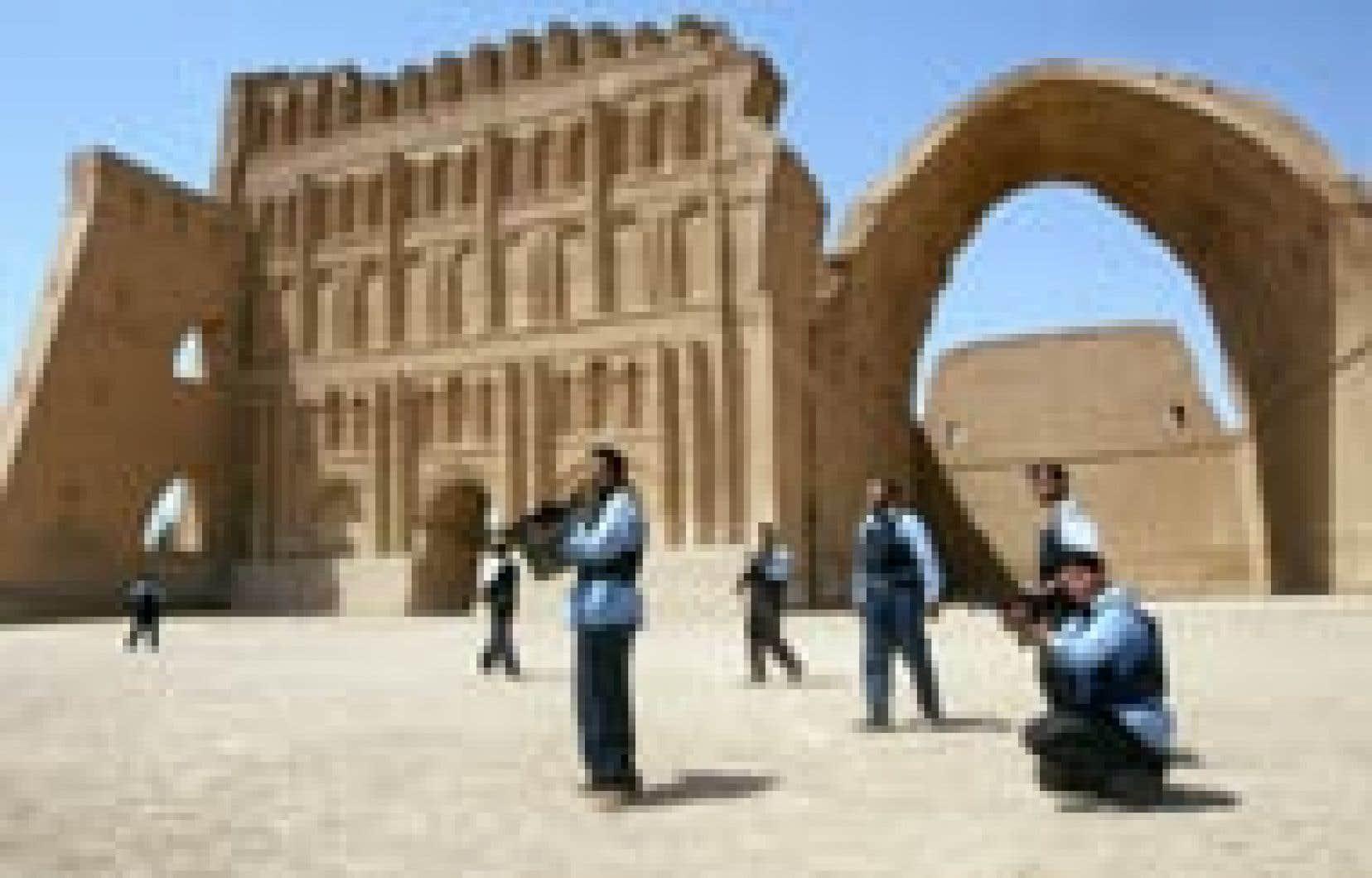 La ville du centre de l'Irak abrite d'anciennes ruines.