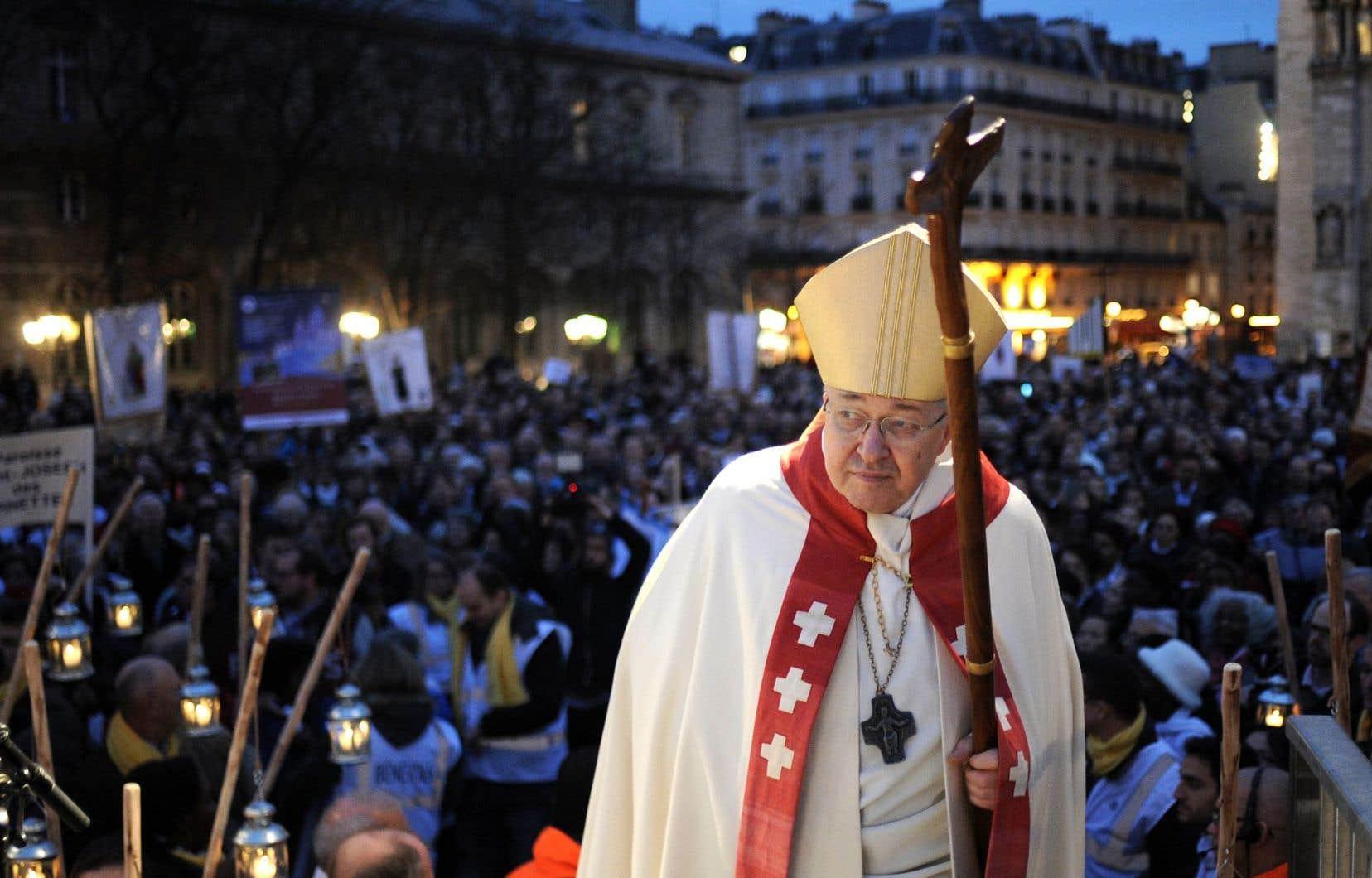 Le 22novembre, le cardinal André Vingt-Trois était présent à l'inauguration du sapin devant la cathédrale Notre-Dame de Paris, sapin qui a été offert par la Russie dans un geste diplomatique et politique.