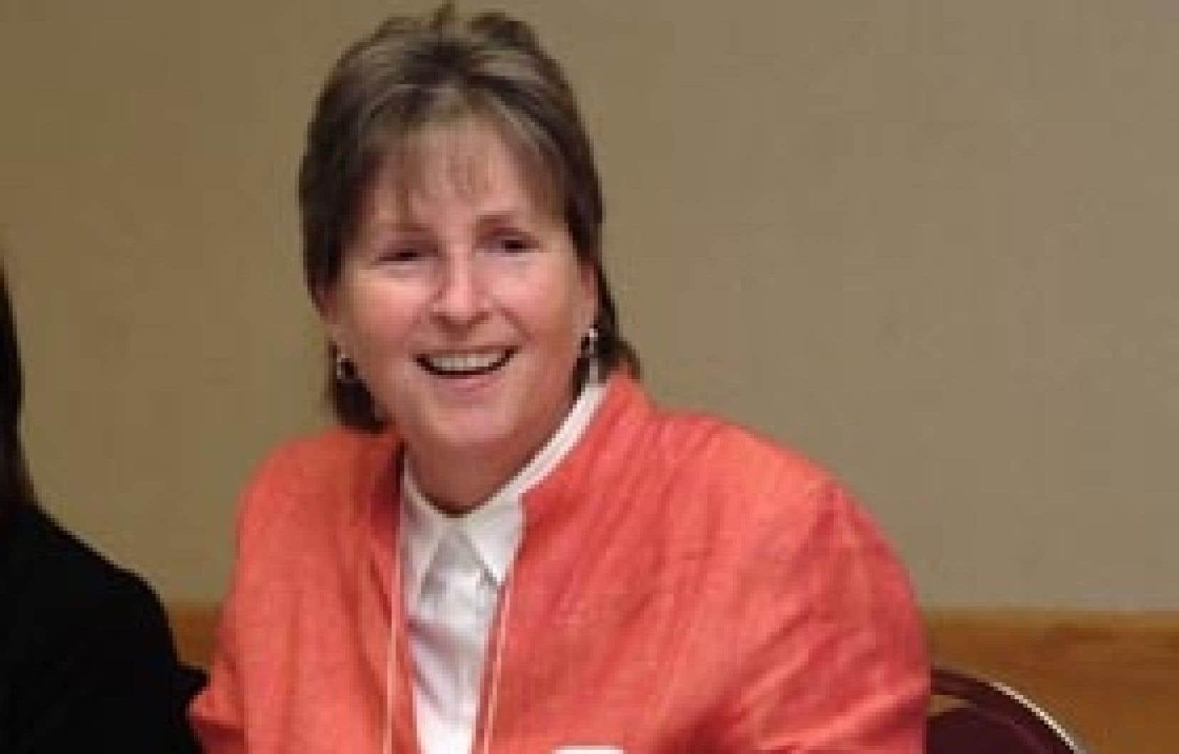 Lina Bonamie abandonnera en juin prochain son poste à la présidence de la Fédération inter-professionnelle de la santé du Québec.