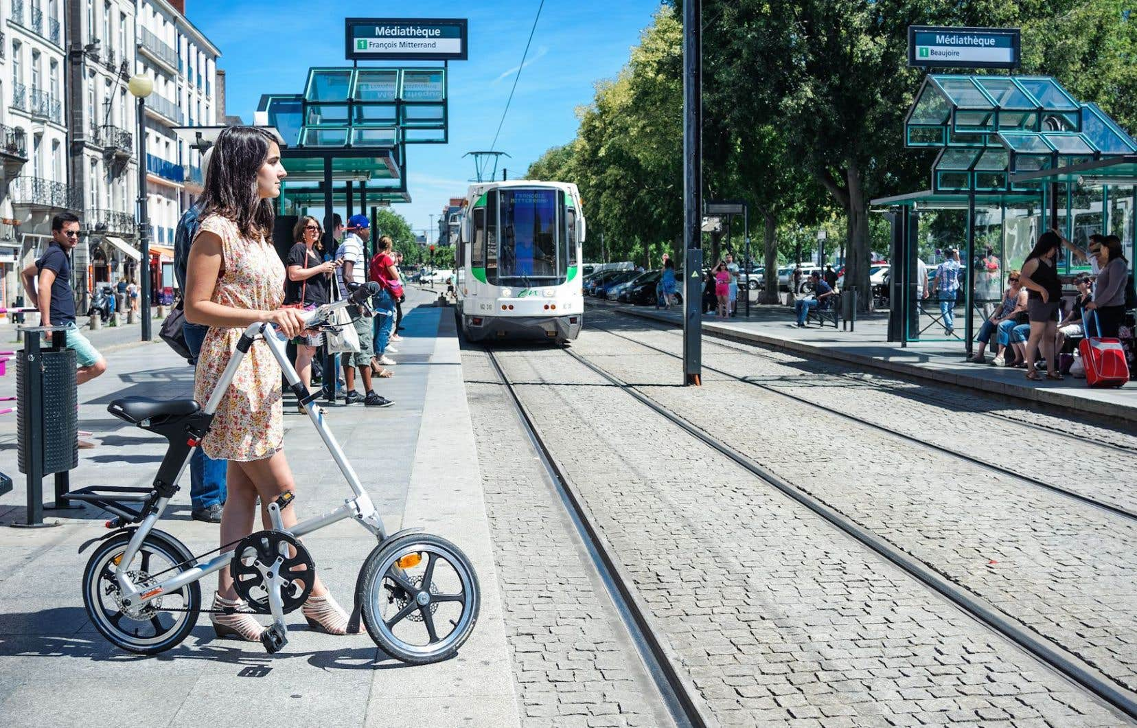 Service de location de vélos pliants