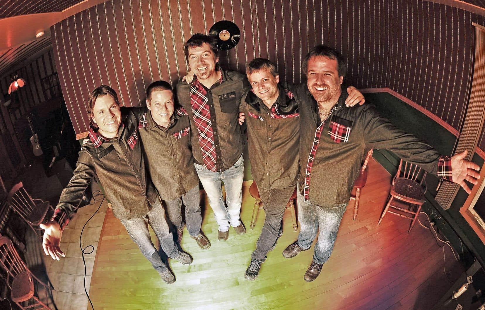 Le quintette Musique à bouches propose un deuxième album.