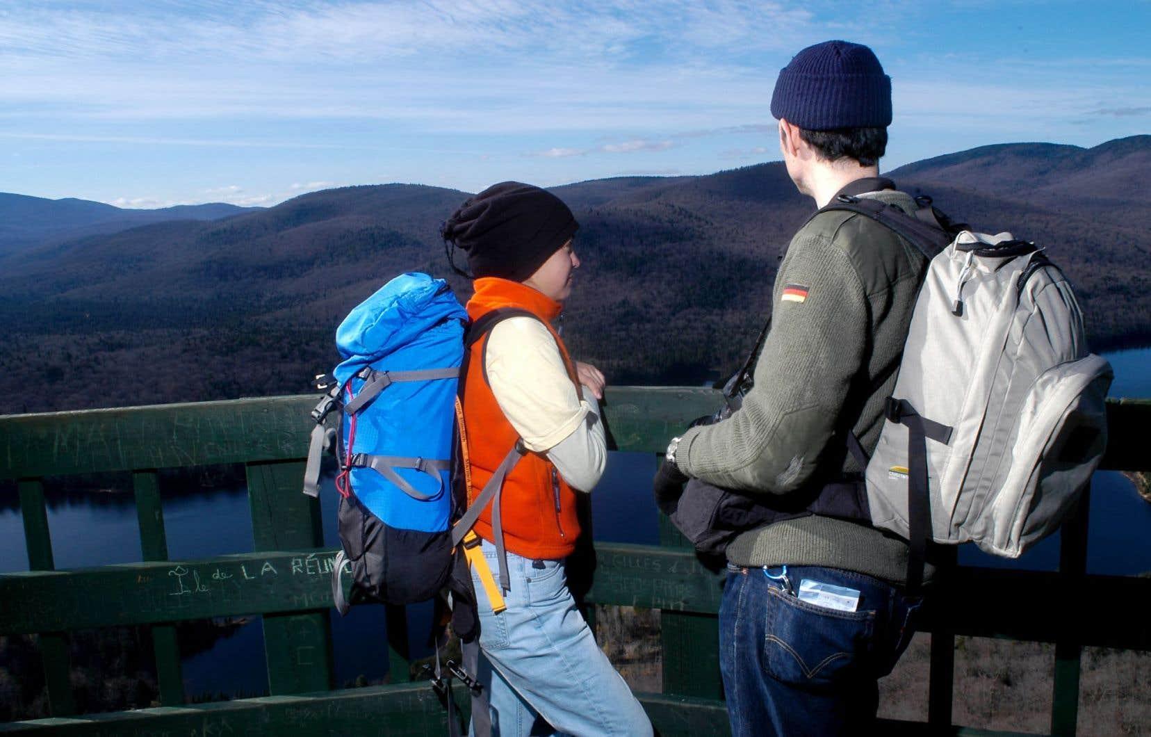 Le tourisme de plein air fait partie des niches de l'industrie québécoise.