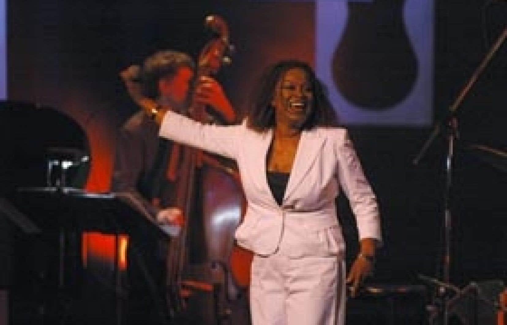 Ranee Lee adore donner des spectacles: «Il y a toujours beaucoup d'émotion et de passion dans mon chant.»