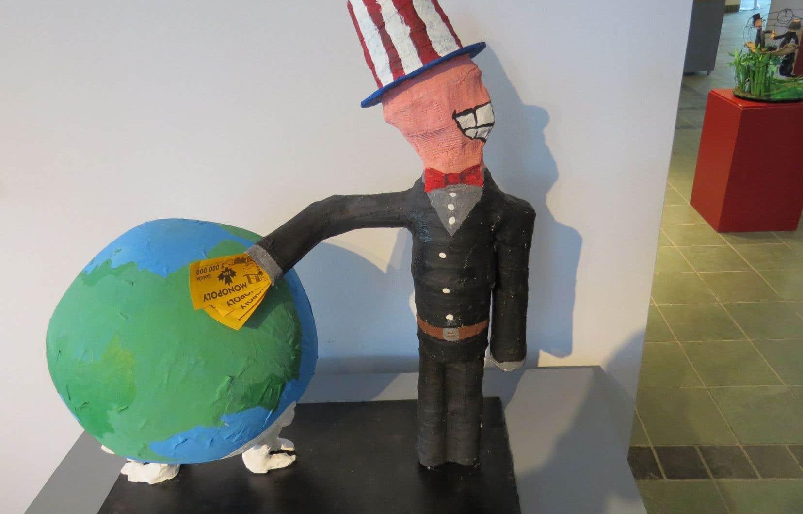 Une autre initiative s'adresse aux arts plastiques. «On a nommé cette activité Change le monde une œuvre à la fois. Les étudiants qui y participent doivent faire une réflexion sur leur vision d'un monde meilleur et ensuite reproduire cette vision en une œuvre d'art.»