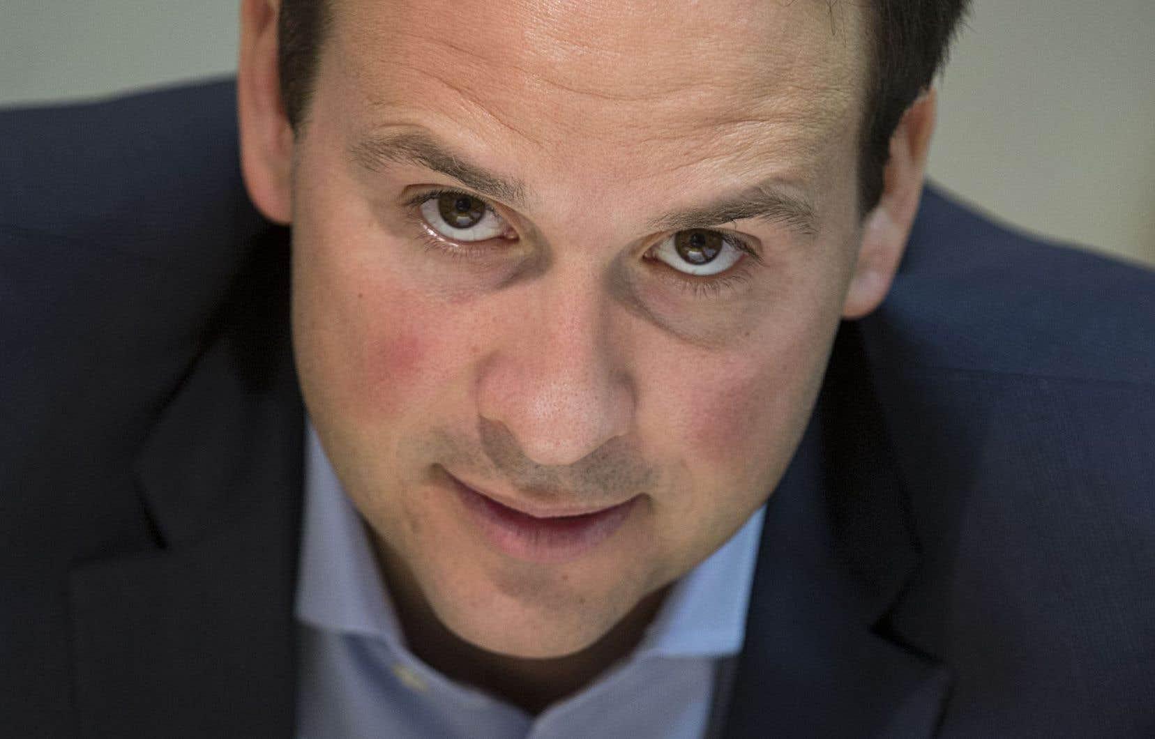 <em>« Ma prétention, c'est qu'il s'agit d'une caractéristique de la constitution interne du Québec »</em>, a indiqué Alexandre Cloutier.