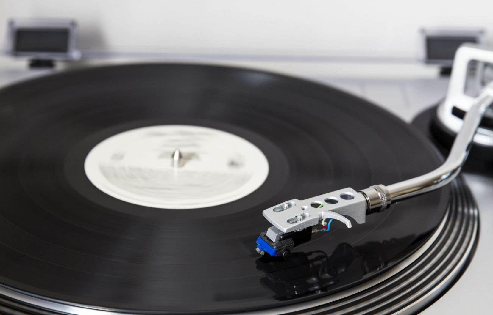 Le vinyle connaît une popularité qui ne se dément pas au Québec depuis quelques années.
