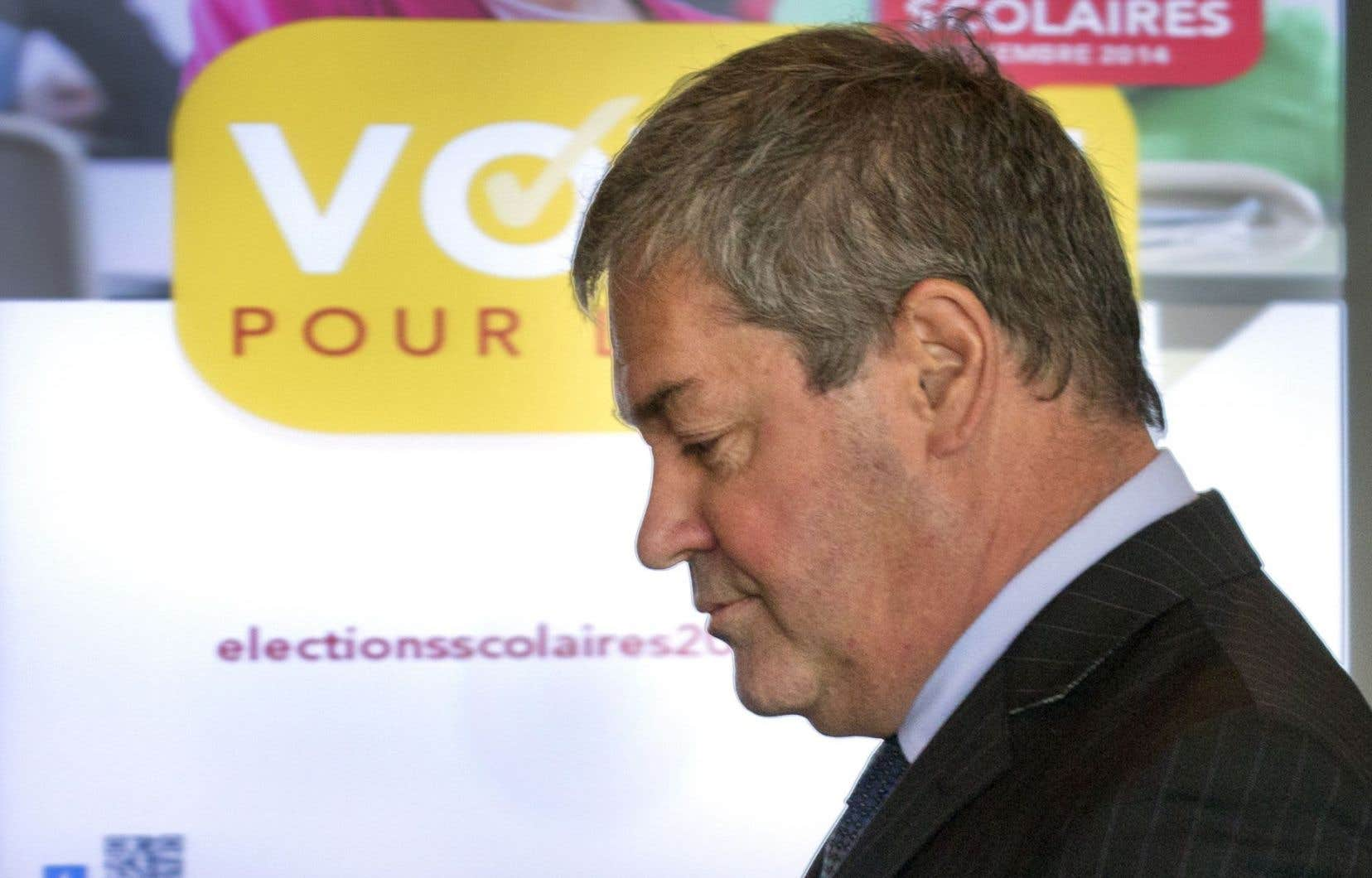Le ministre de l'Éducation, Yves Bolduc