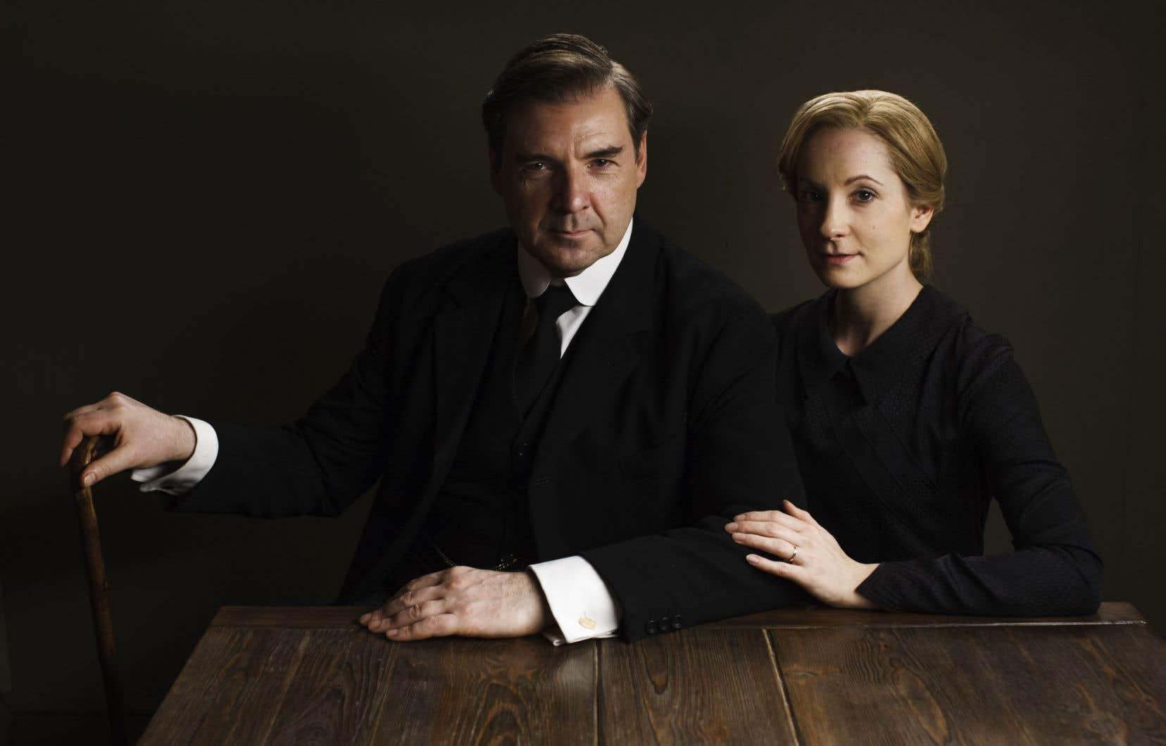 M. Bates (Brendan Coyle) et Anna Bates (Joanne Froggatt)