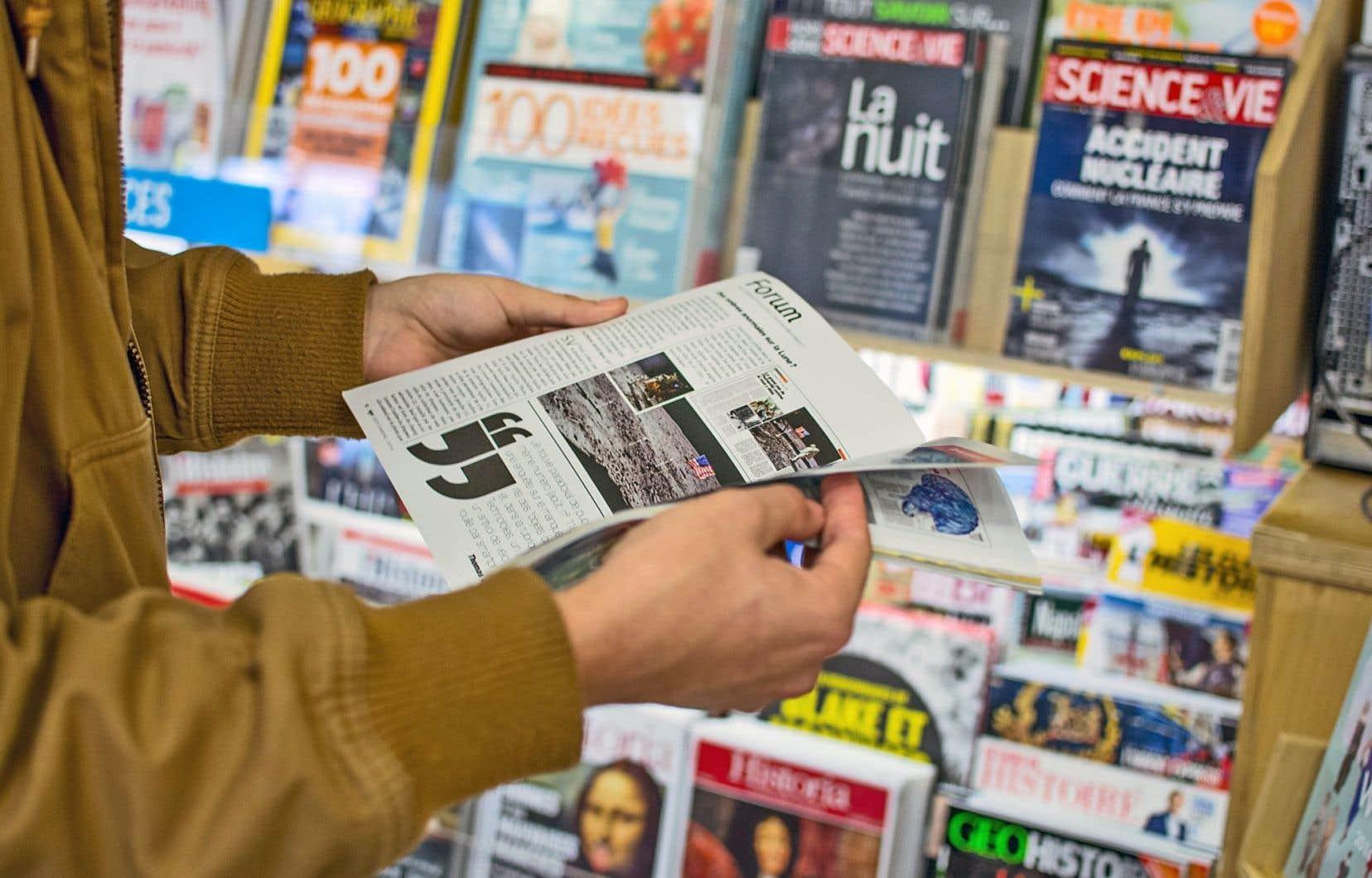 Au Québec, LMPI ne veut se consacrer qu'à la distribution de magazines internationaux.