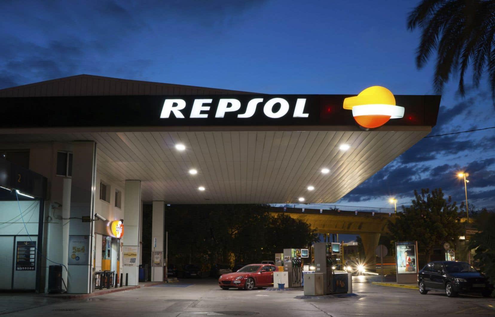 Talisman confirme tenir des discussions avec Repsol au sujet d'une « transaction d'affaires potentielle ».