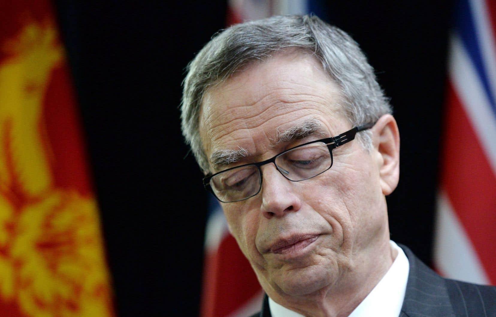 Le ministre fédéral des Finances, Joe Oliver, rencontrait tous les ministres provinciaux lundi. Ottawa versera 68milliards en transferts pour 2015-2016.