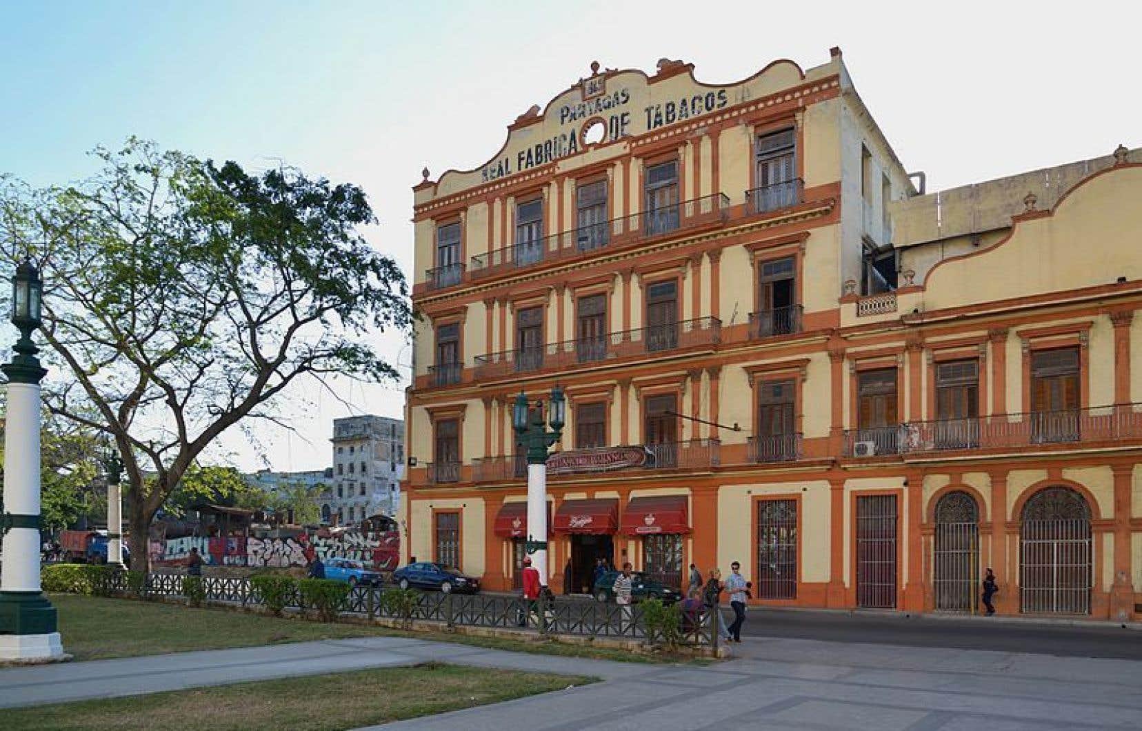 Une scène de La Havane, à Cuba