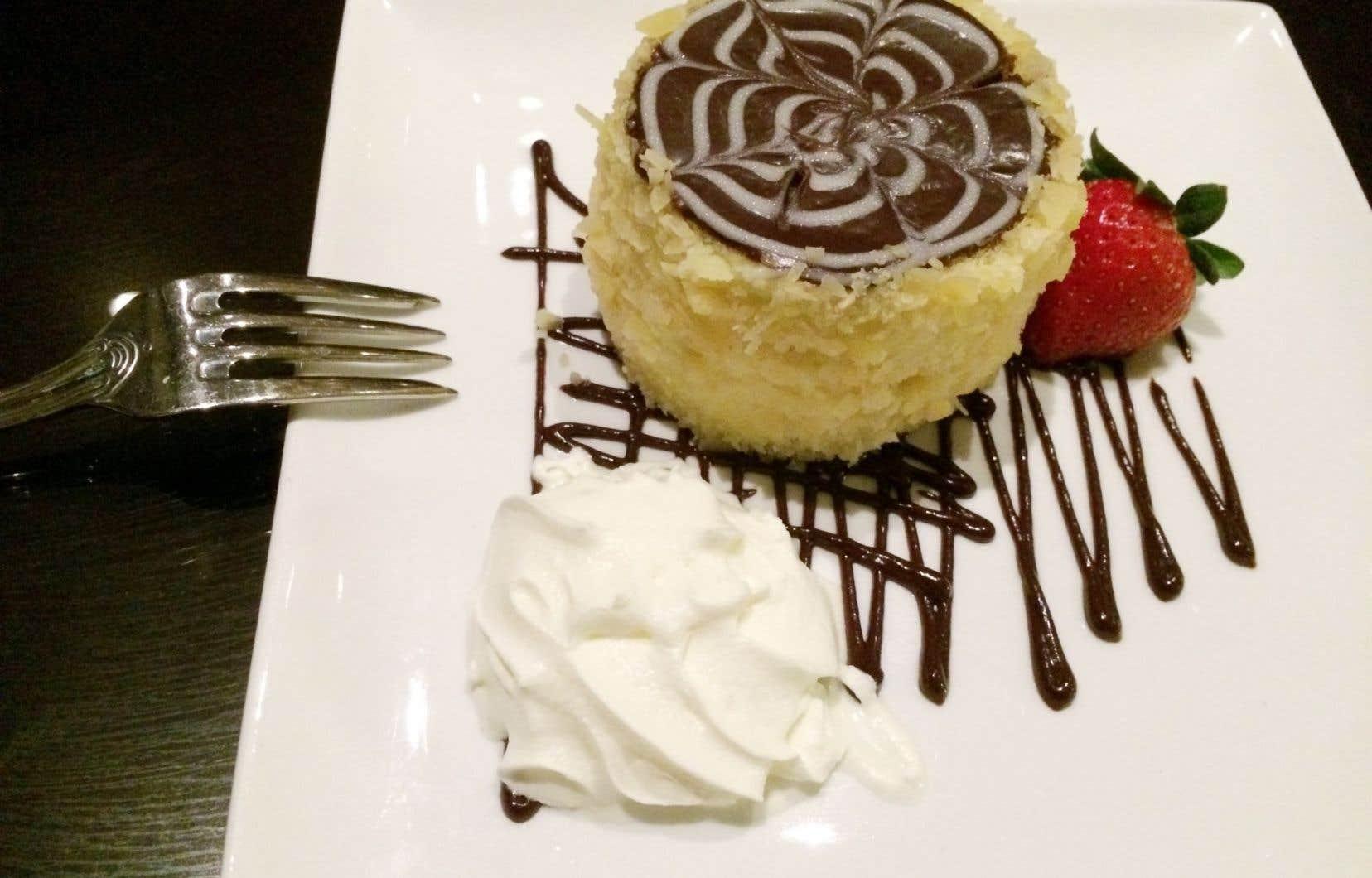 C'est à l'hôtel Omni Parker qu'a été inventée en 1856 la Boston Cream Pie.