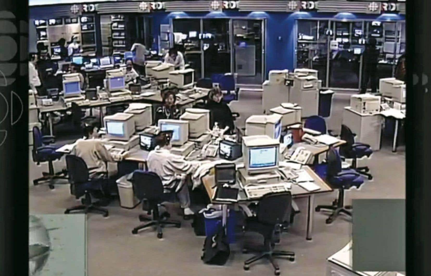En une dizaine de brefs reportages, «20 ans d'info en continu» remonte le temps pour mieux cerner les «médiamorphoses» qui ont transformé RDI et consorts.