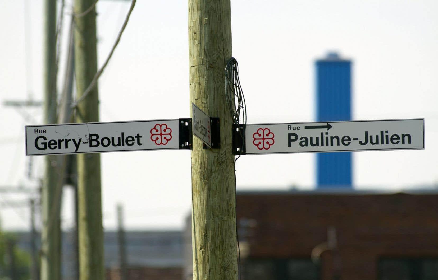 Si 51% des lieux montréalais portent des noms d'hommes, seuls 6% s'inspirent de grands personnages féminins. Encore en 2014, la Ville a ajouté 17 hommes pour 3 femmes seulement.