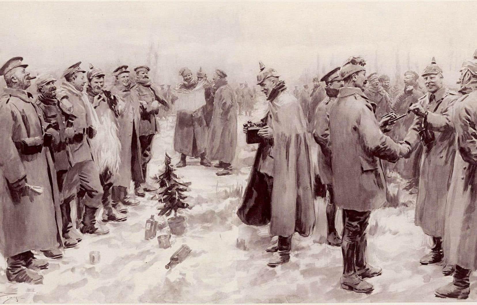 La Treve De Noel Le Noël où les armes se sont tues | Le Devoir