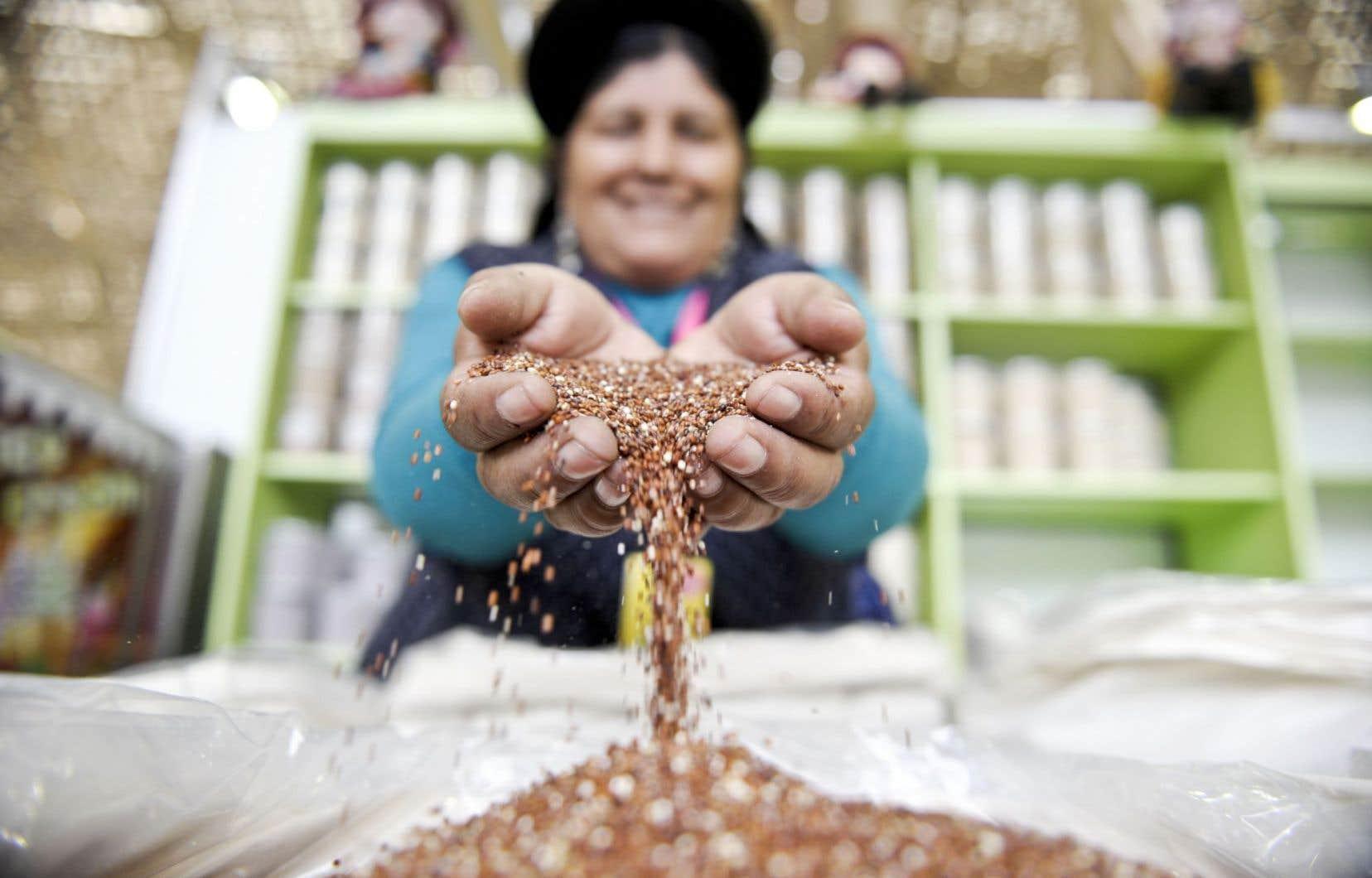 Le quinoa est devenu l'un des emblèmes culinaires du Pérou.