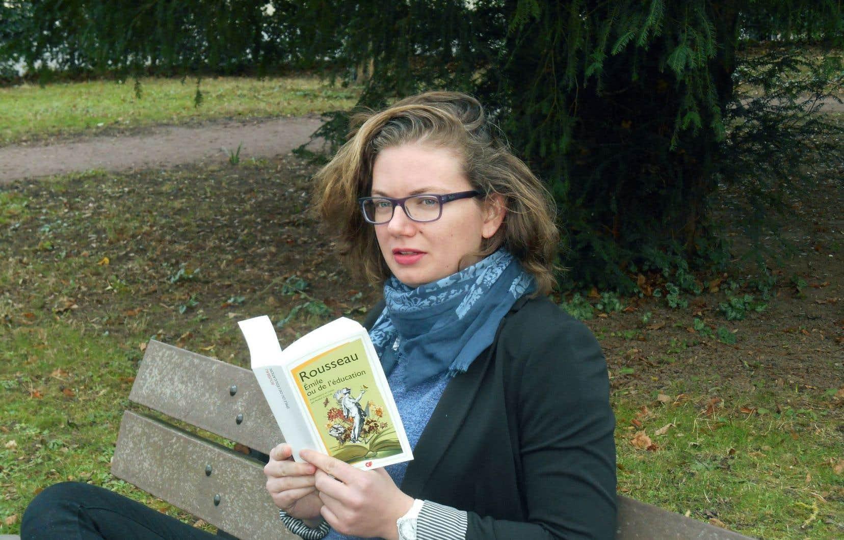 L'étudiante au doctorat en philosophie Blandine Parchemal