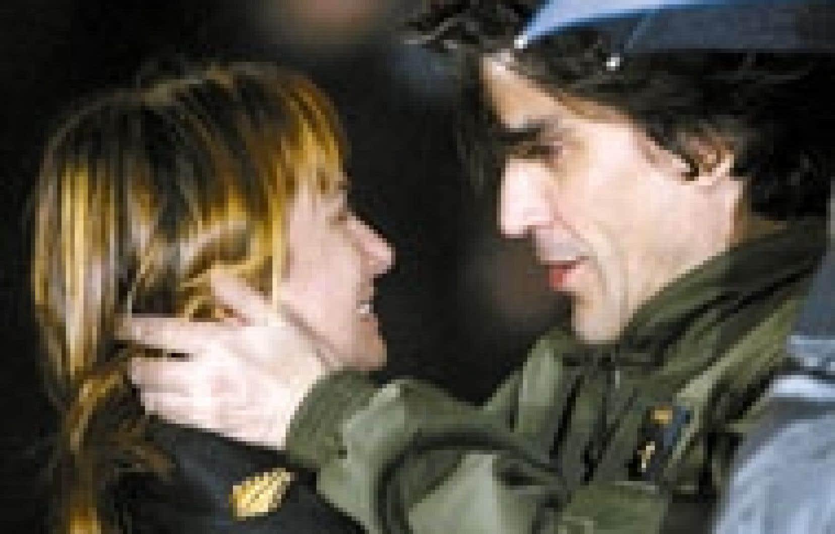 Le journaliste Georges Malbrunot a retrouvé hier sa compagne Sylvie Cherpin après 124 jours de détention en Irak.