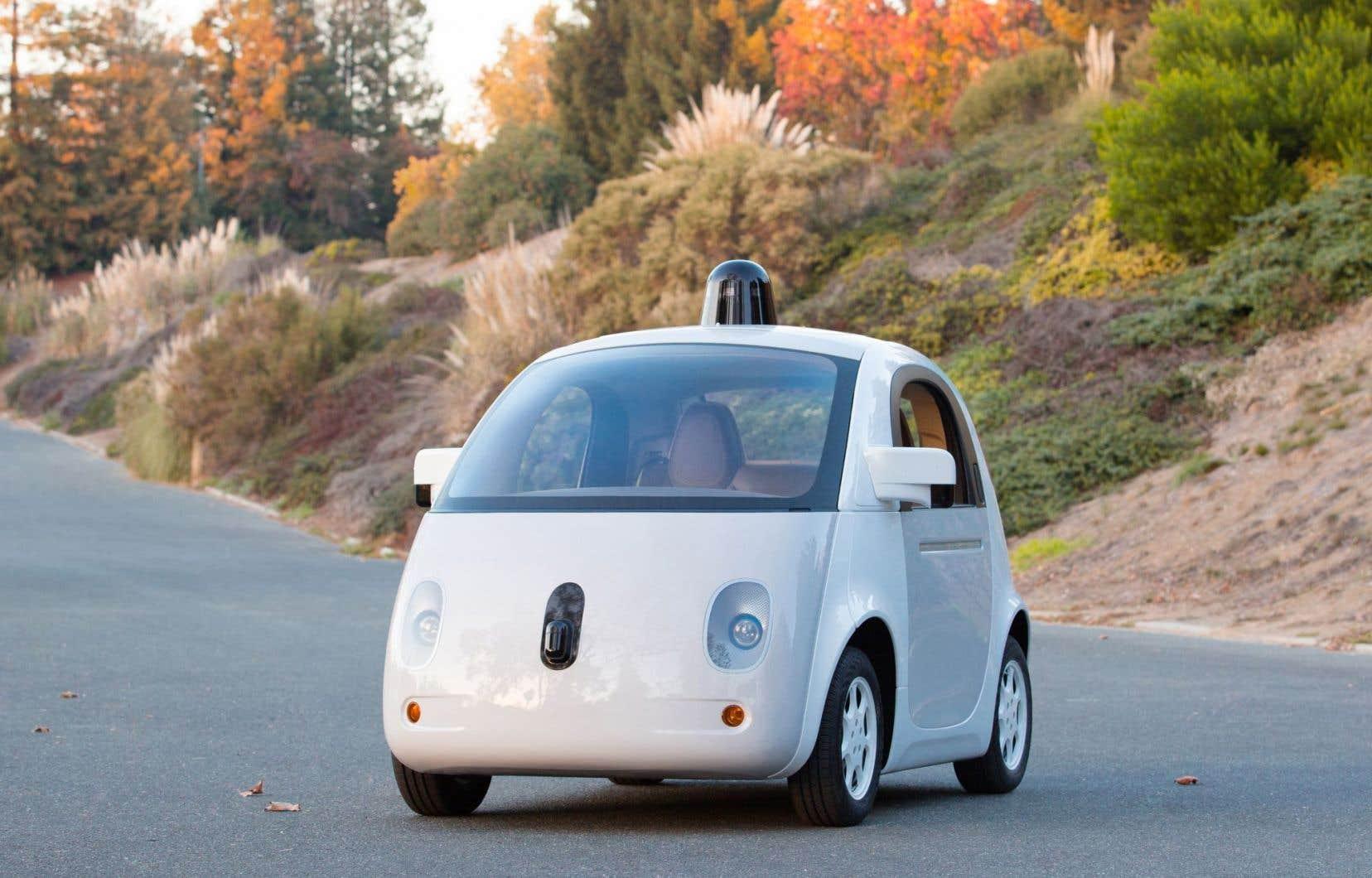 La voiture prototype de Google a déjà parcouru de façon autonome plus d'un million de kilomètres.