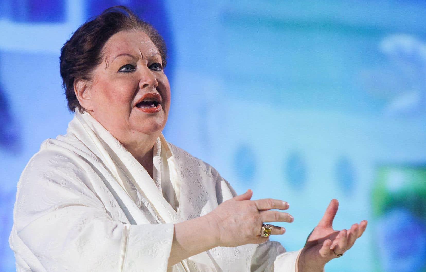 Denise Gagnon, dans la pièce mise en scène par Christian Lapointe