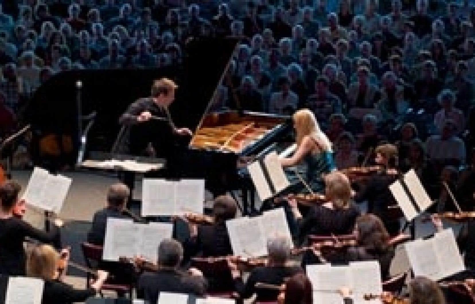 Le concert d'ouverture du Festival de Lanaudière en 2008.