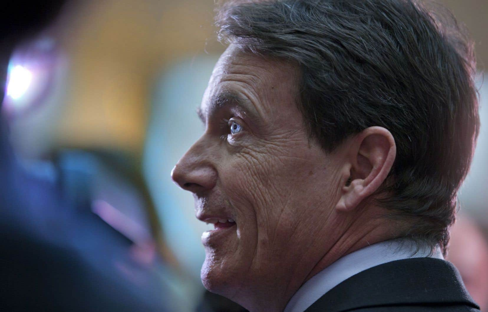 Le candidat favori de la course à la direction du Parti québécois, Pierre Karl Péladeau