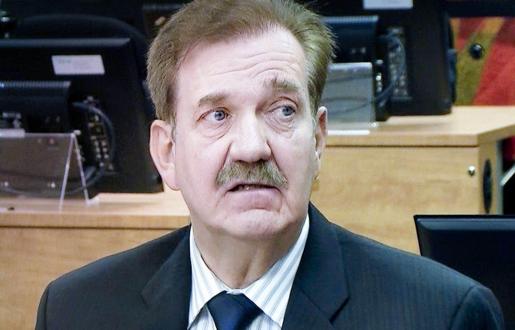 Luc Leclerc, lors de son passage à la Commission Charbonneau.