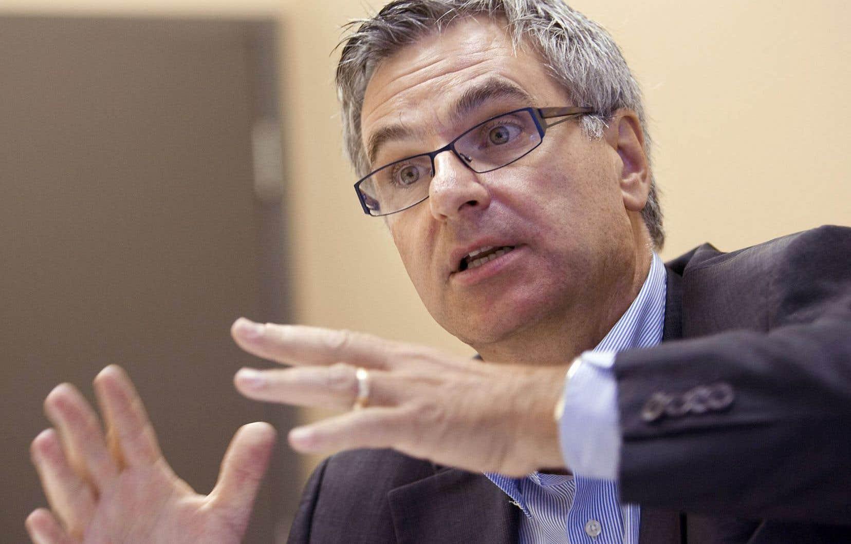 Le ministre des Affaires intergouvernementales canadiennes, Jean-Marc Fournier