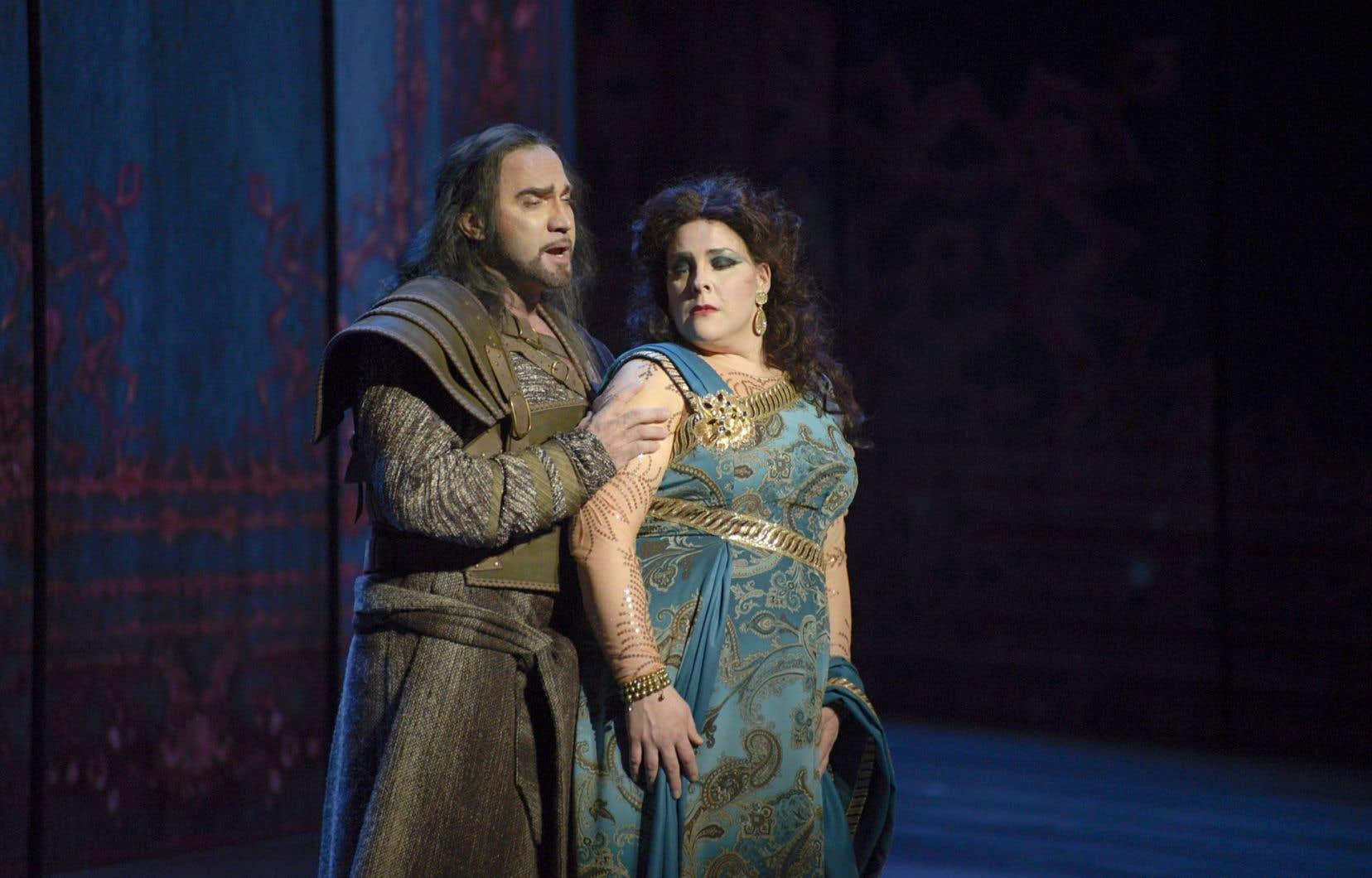 Endrik Wottrich et Marie-Nicole Lemieux en duo dans «Samson et Dalila»
