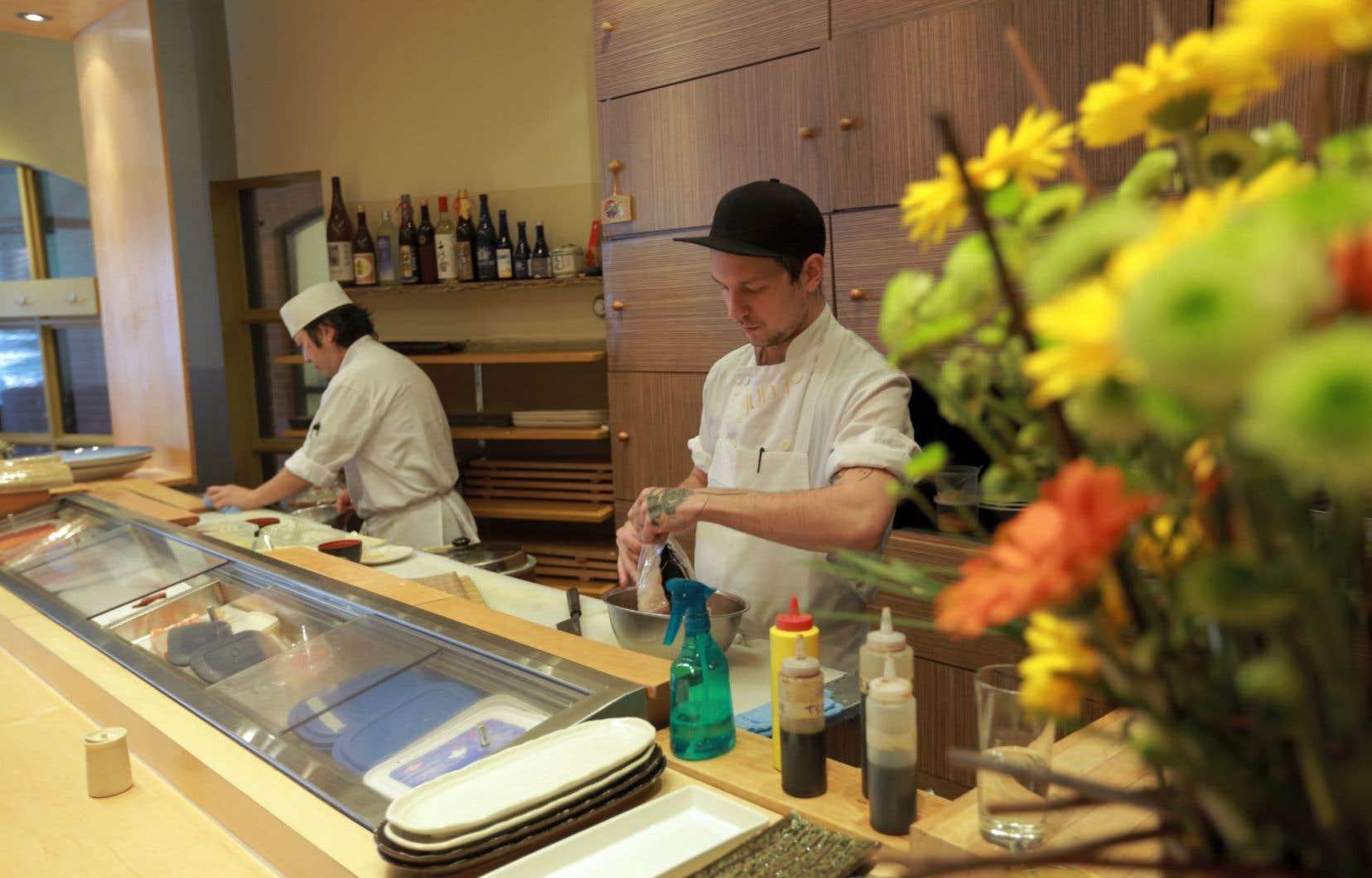 La table du chef Ikematsu est une étape obligée pour qui aime cette cuisine aux antipodes de la poutine et du gratin dauphinois.