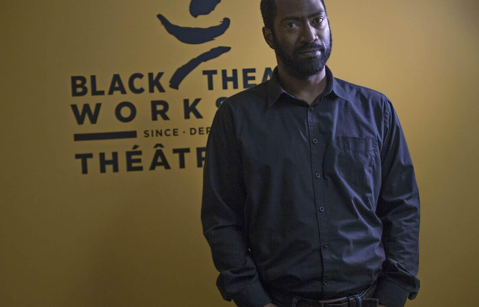 Quincy Armorer est le directeur artistique du Black Theatre Workshop depuis 2011.