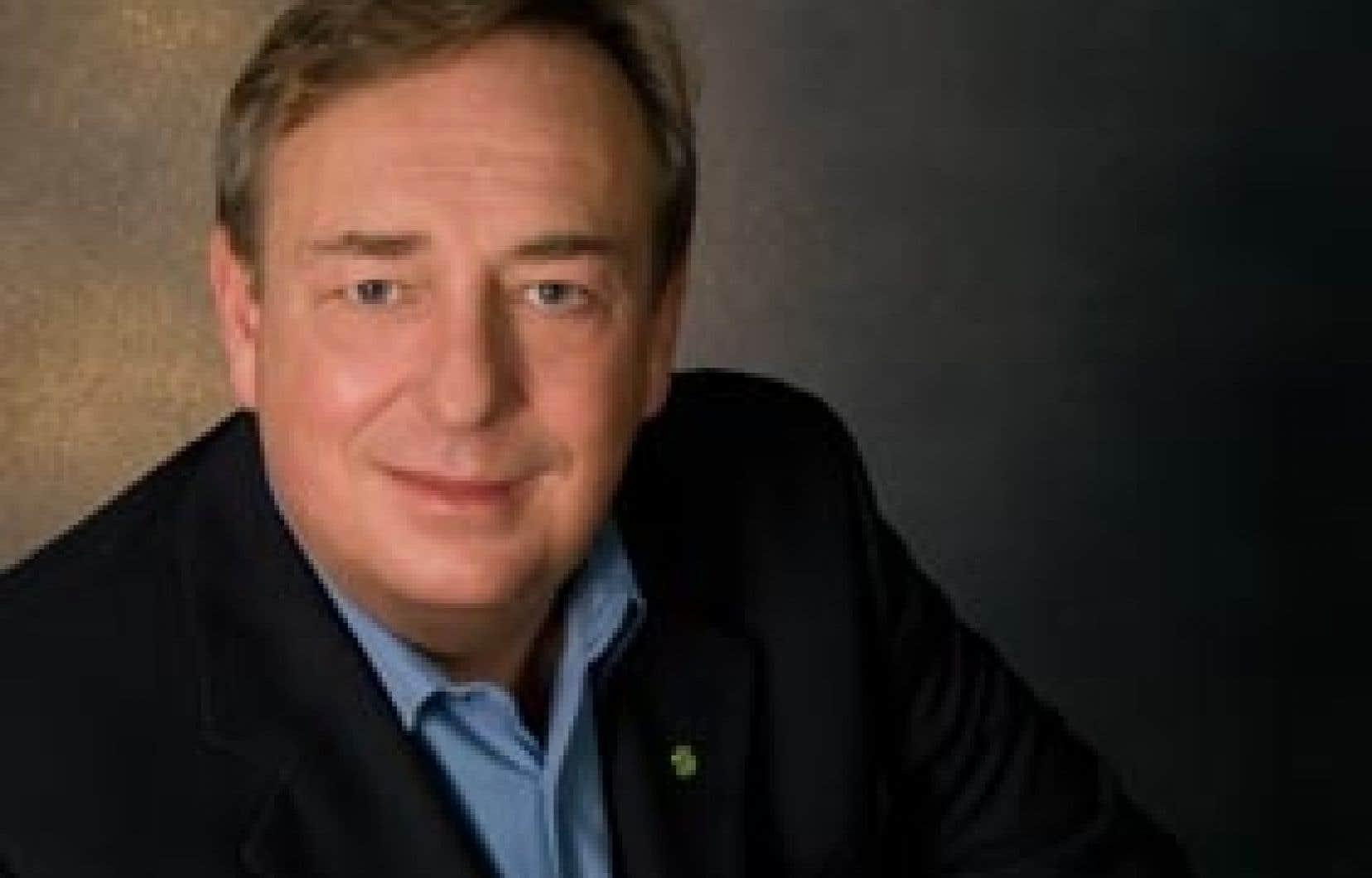 François Vaudreuil, président de la Centrale des syndicats démocratiques