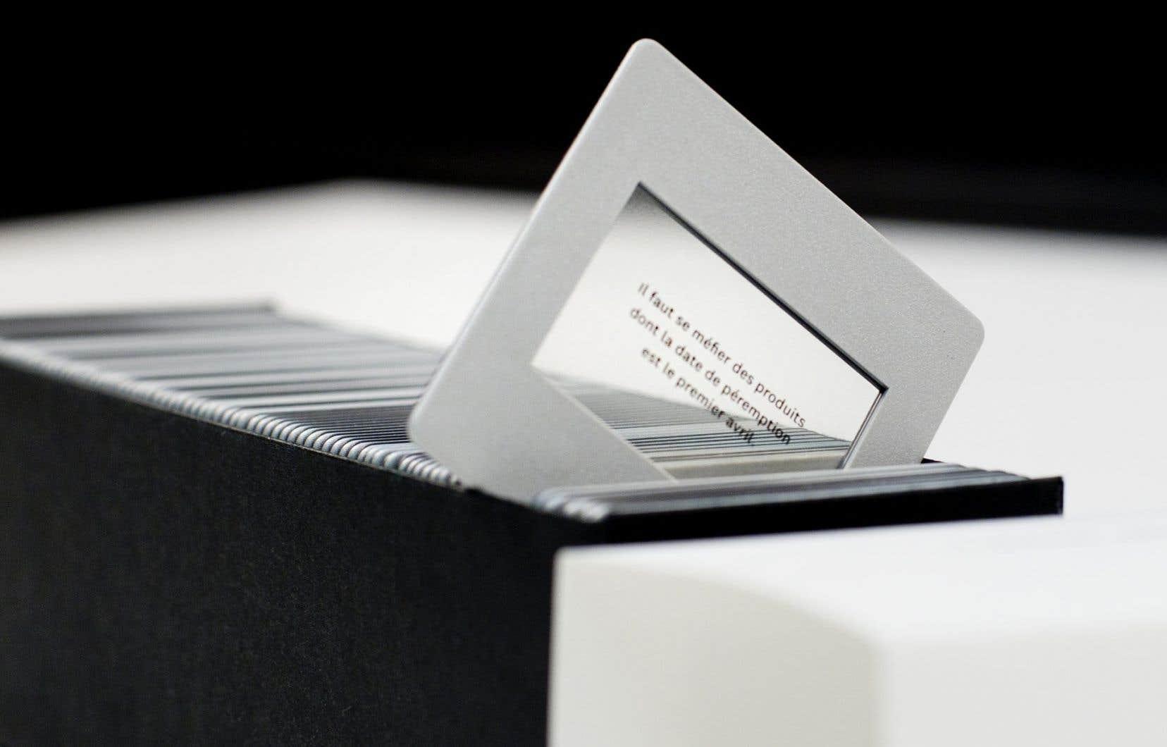 Le Canada a déjà été un chef de file dans l'archivage numérique. Sur notre photo, le<em> Carrousel encyclopédique des grandes vérités de la vie moderne</em>, Marc-Antoine K. Phaneuf et Jean-François Proulx, Montréal, 2010.