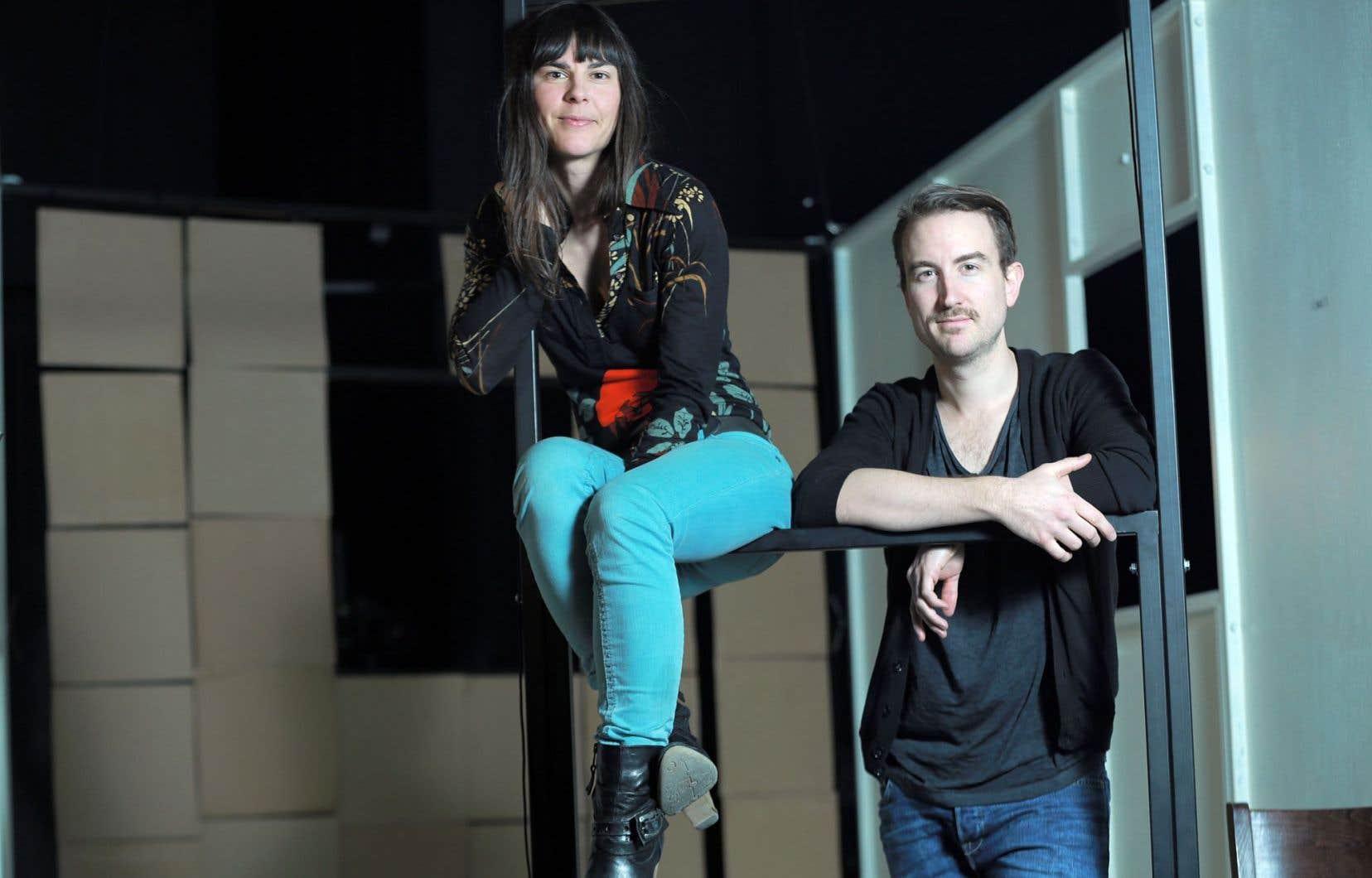 Olivier Sylvestre, gagnant du prix Gratien-Gélinas en 2012, a vu son texte primé porté à la scène grâce aux bons soins du Théâtre I.N.K. et de sa codirectrice artistique, Marilyn Perreault.