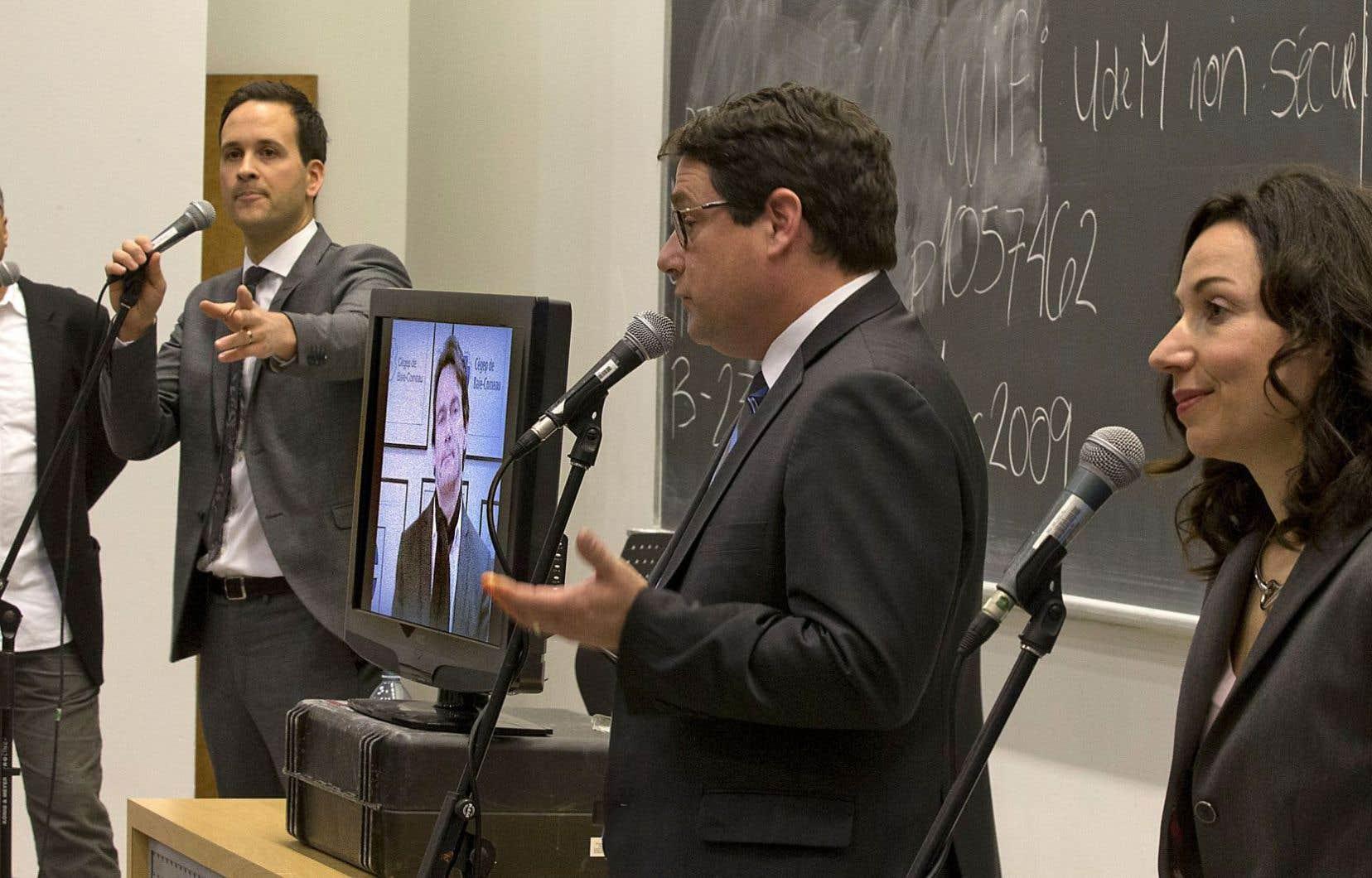 Les cinq candidats à la course à la présidence du Parti québécois tiendront quatre autres débats avant que les militants choisissent leur chef.