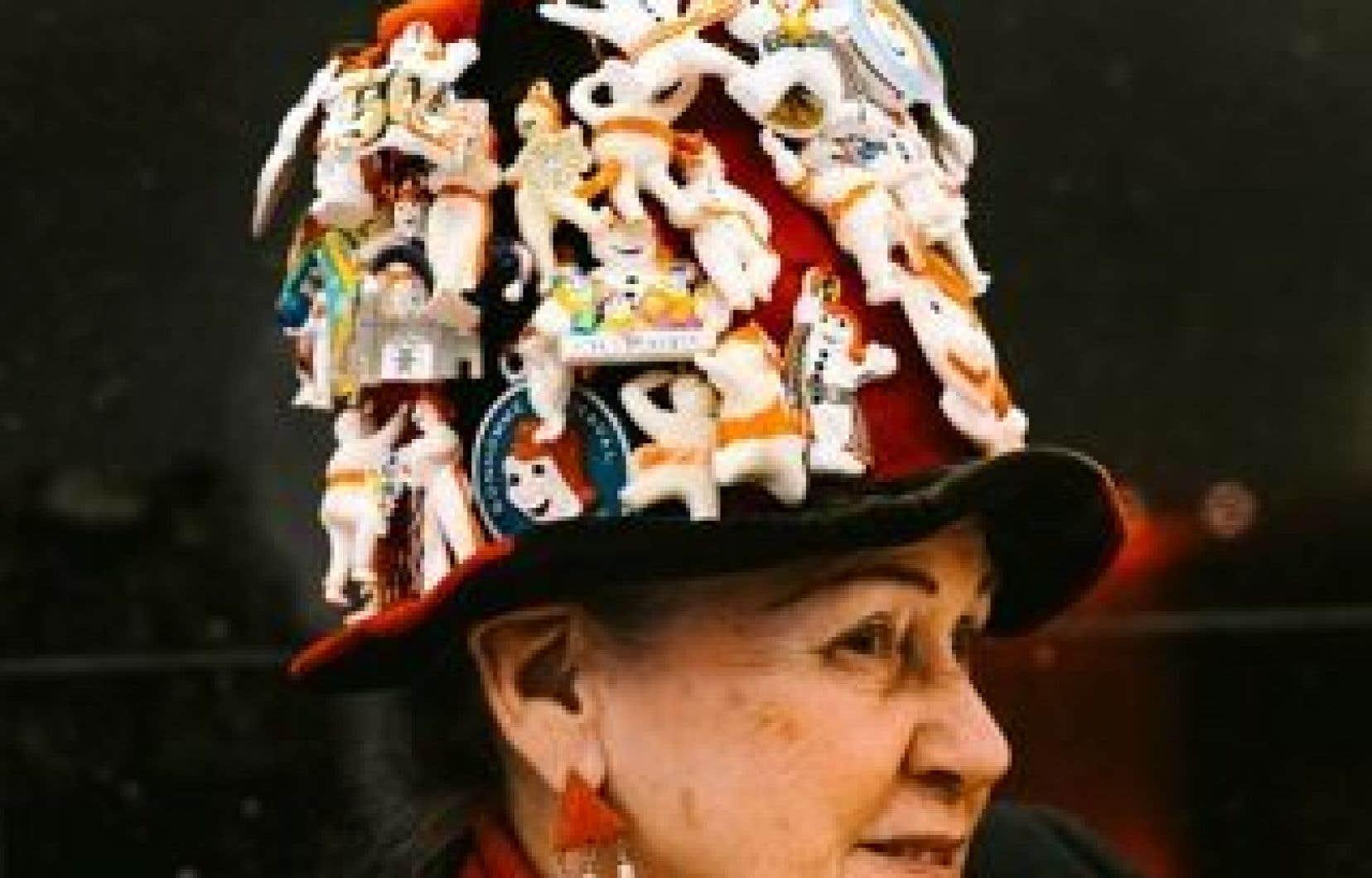 Jacqueline Ouellet est une fidèle du Carnaval de Québec depuis 61 ans.