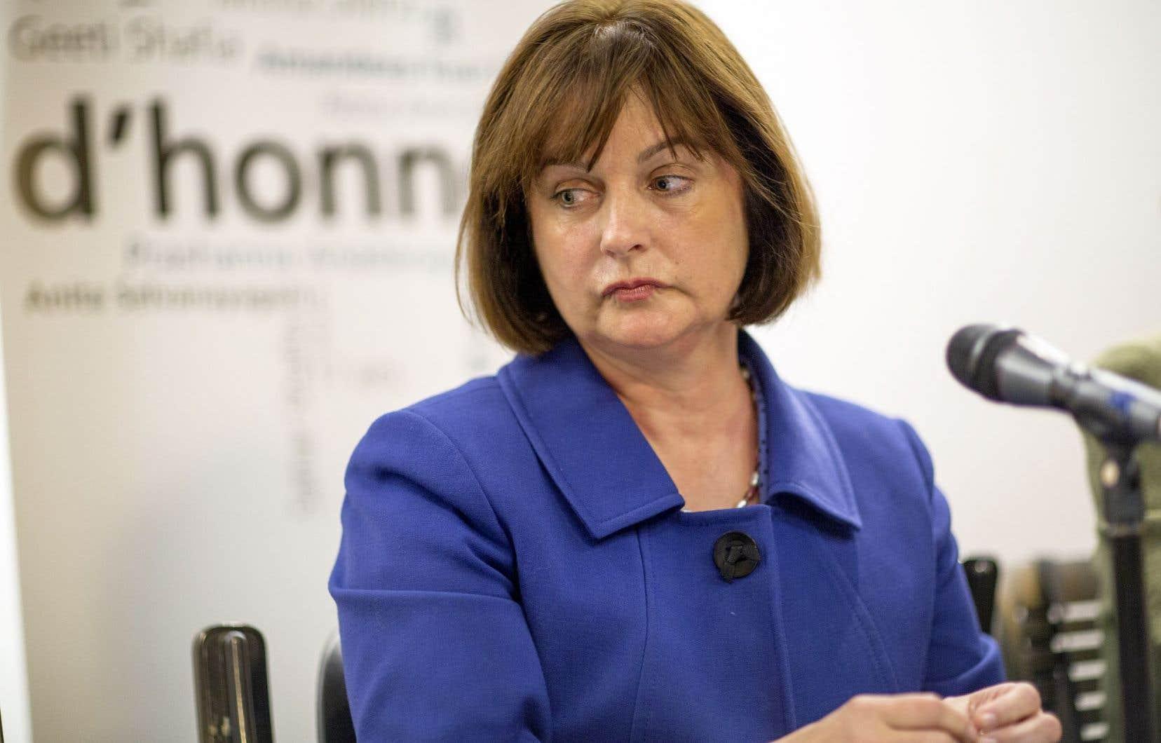Le Conseil du statut de la femme, présidé par Julie Miville-Dechêne, a vu 12% de son budget être amputé.