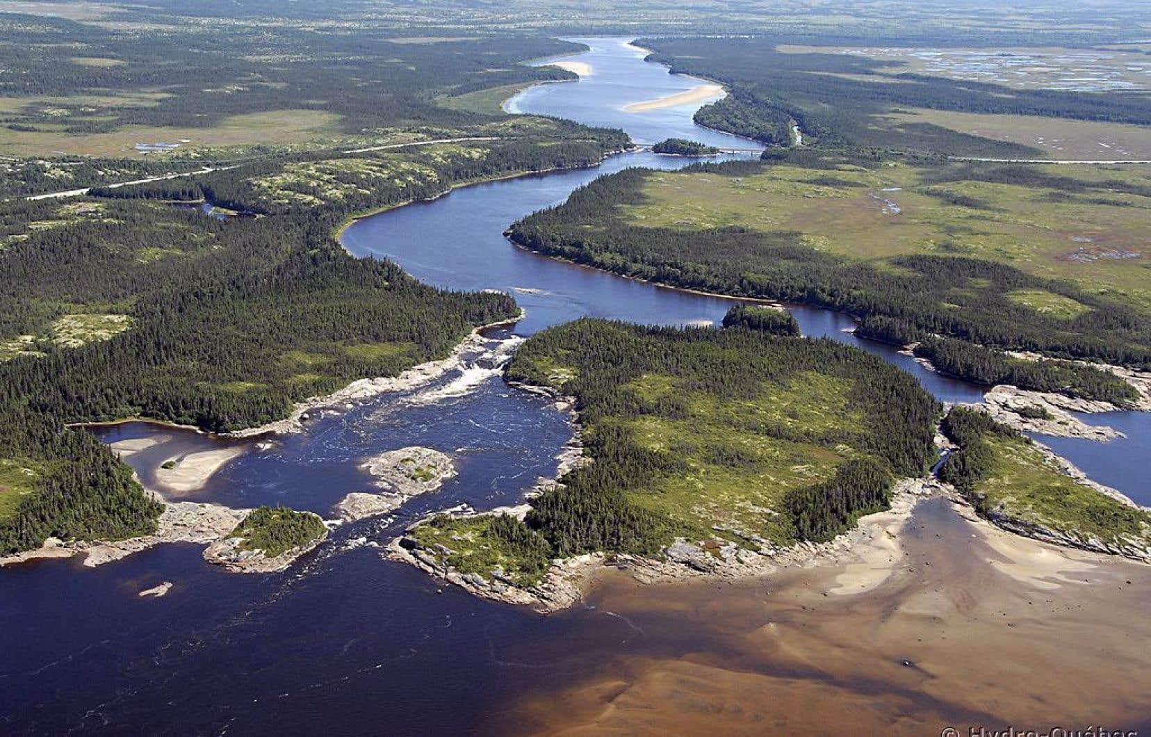 Le mégaprojet hydroélectrique de la rivière Romaine devrait coûter à terme 6,5 milliards.