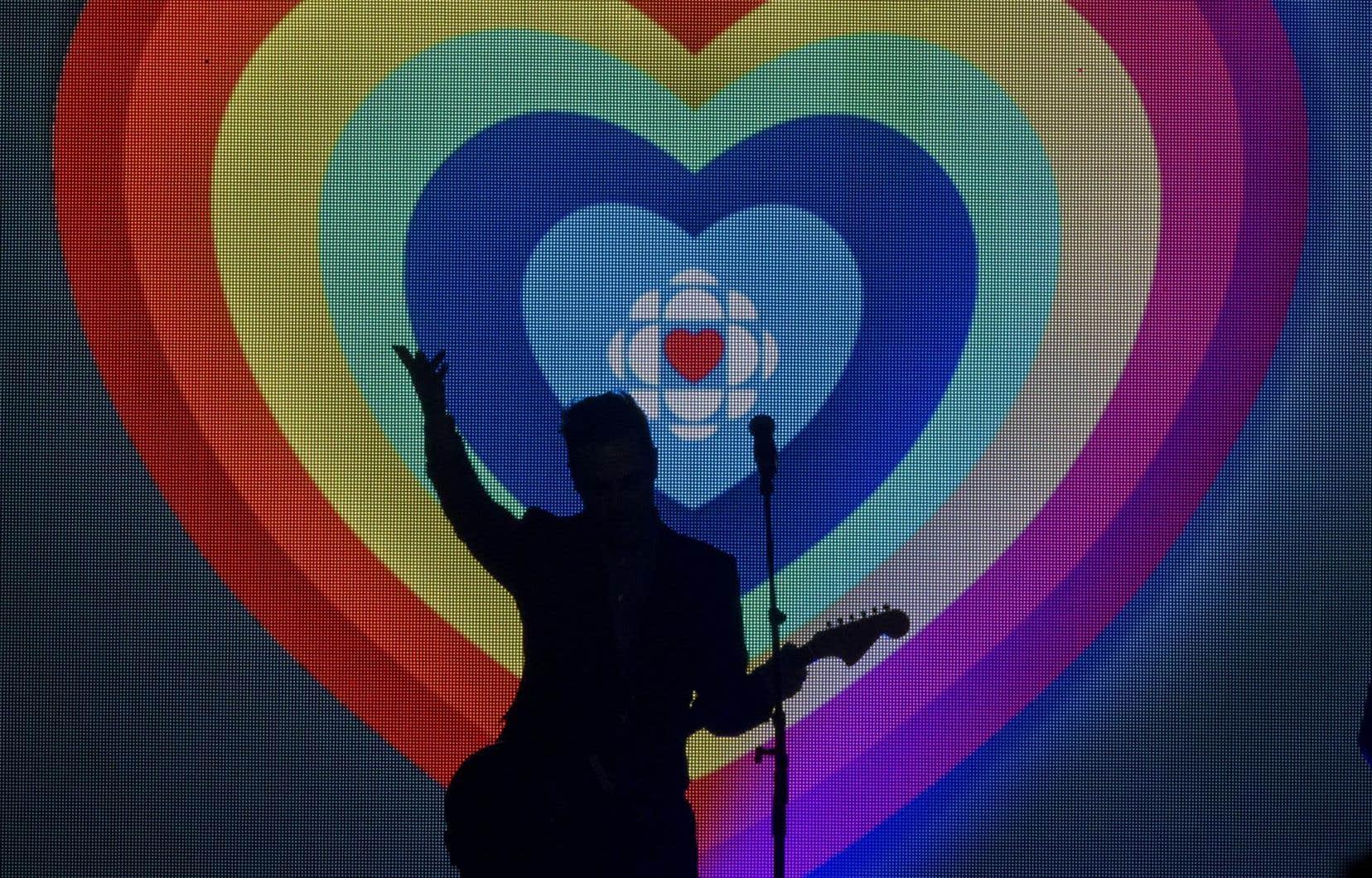 L'attaque est survenue au lendemain d'un spectacle en soutien au diffuseur public qui a rassemblé une trentaine d'artistes au Métropolis de Montréal.