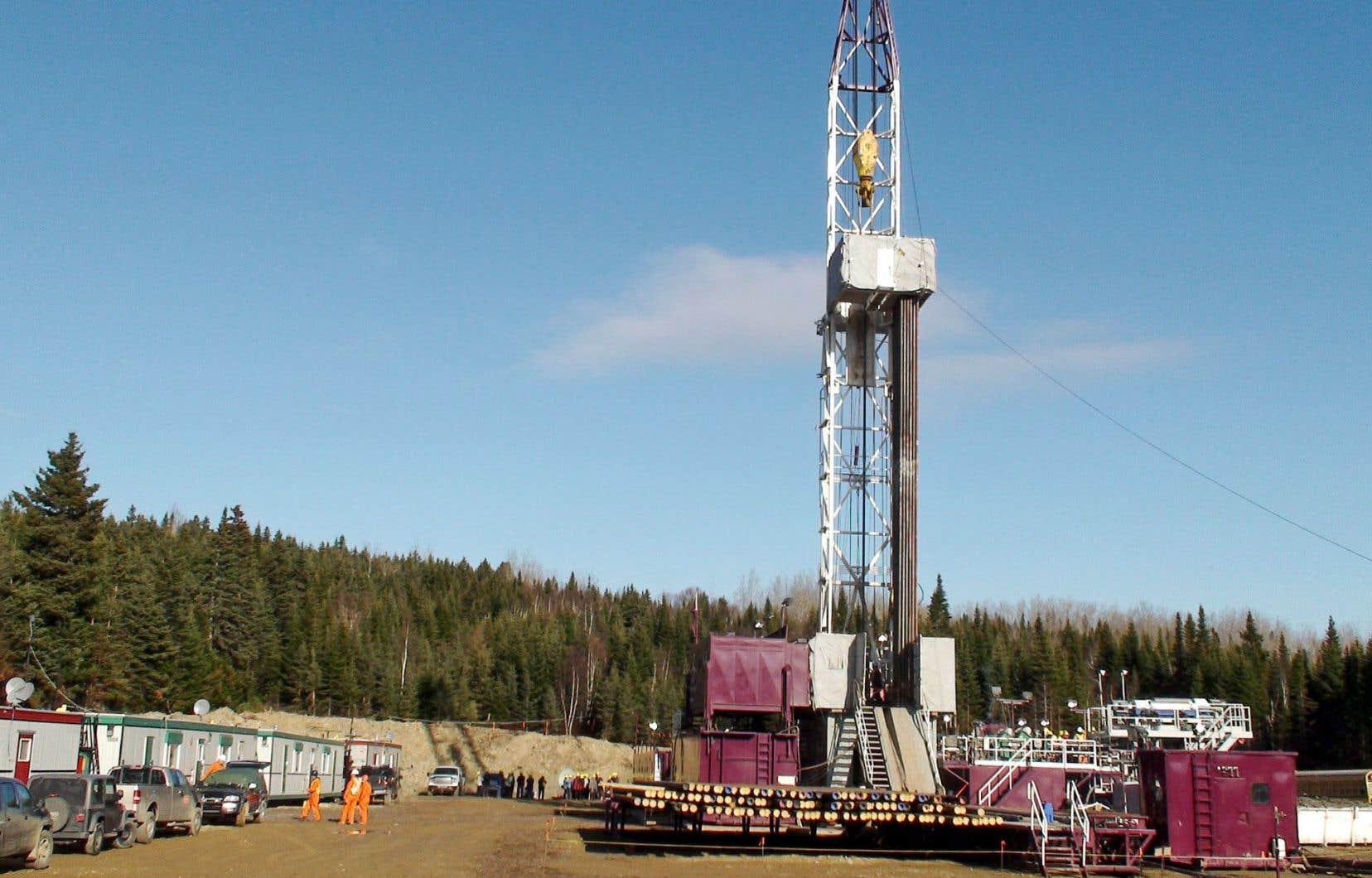 Haldimand1 a déjà produit plus de 5000 barils de pétrole brut.