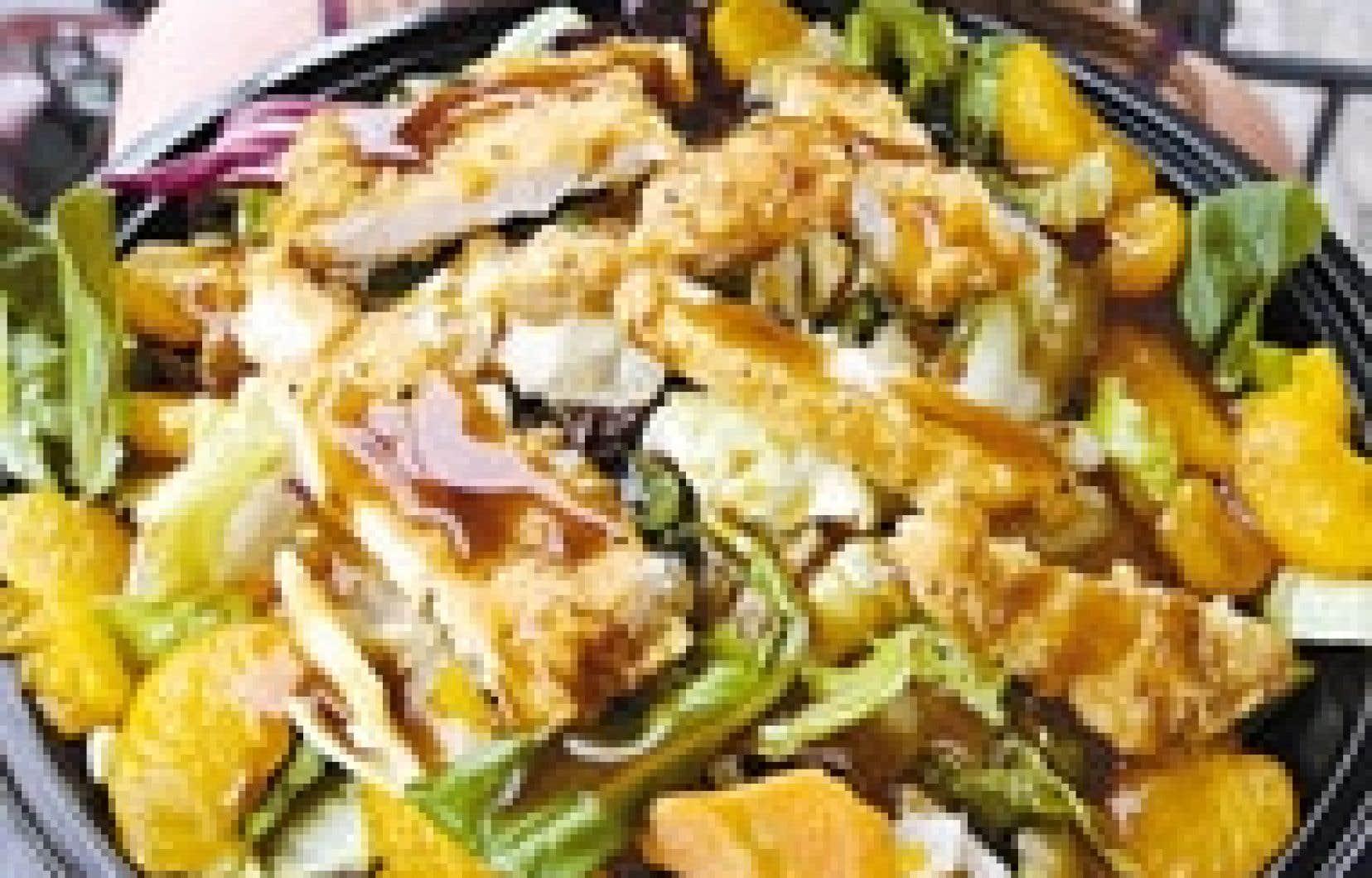 Une salade McDo à l'apparence saine vient tout de même combler le quart des calories qu'une personne moyenne devrait quotidiennement ingurgiter.